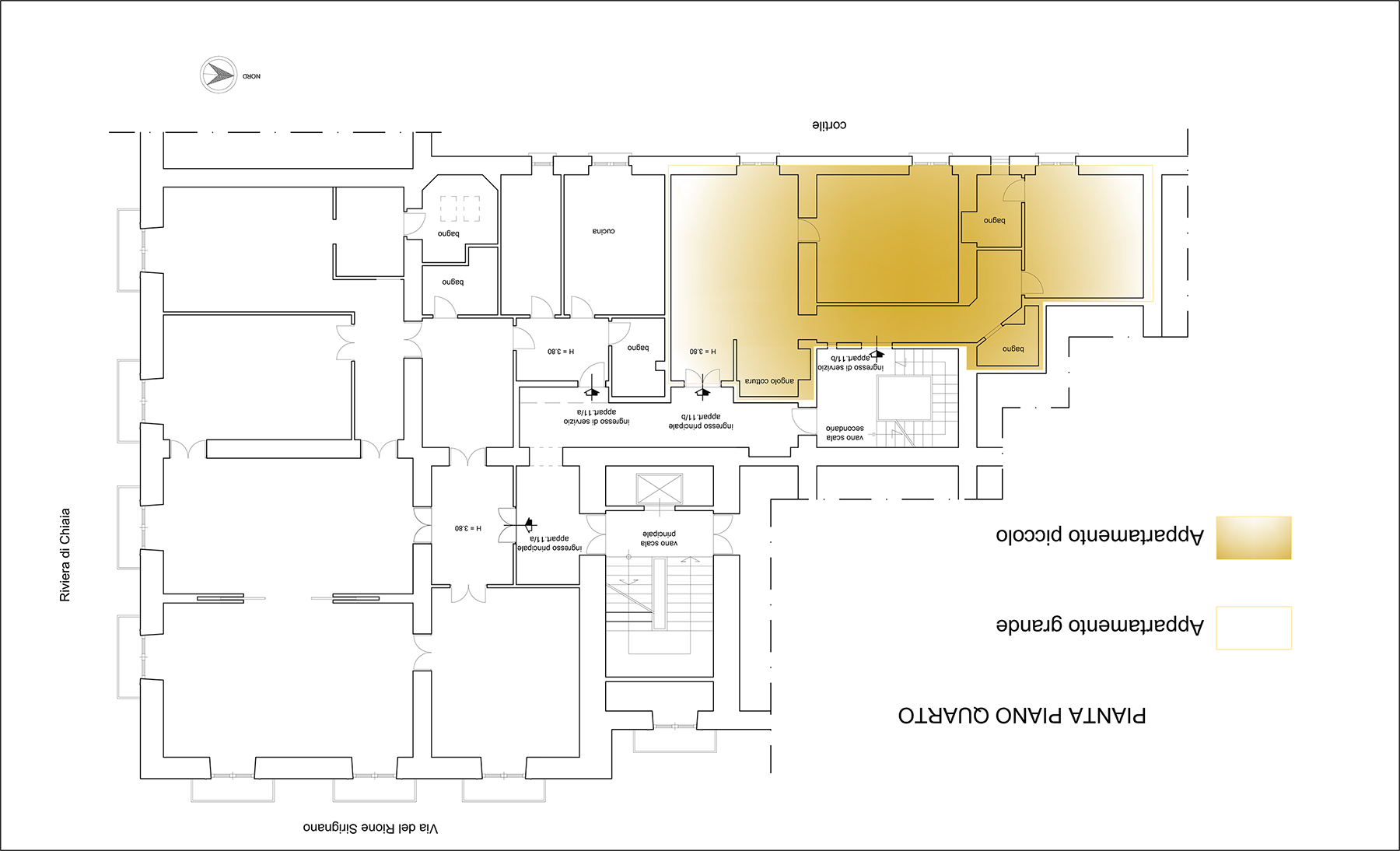 Appartamento in Vendita a Napoli: 5 locali, 350 mq - Foto 17