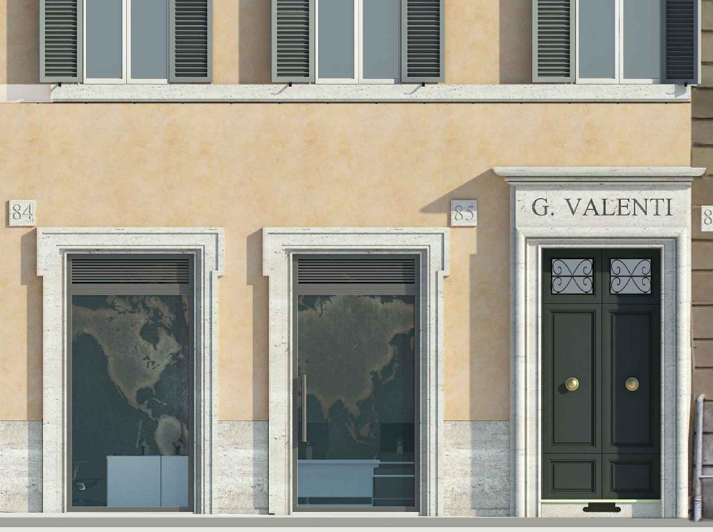 negozio locale di lusso in affitto a roma via dei serpenti