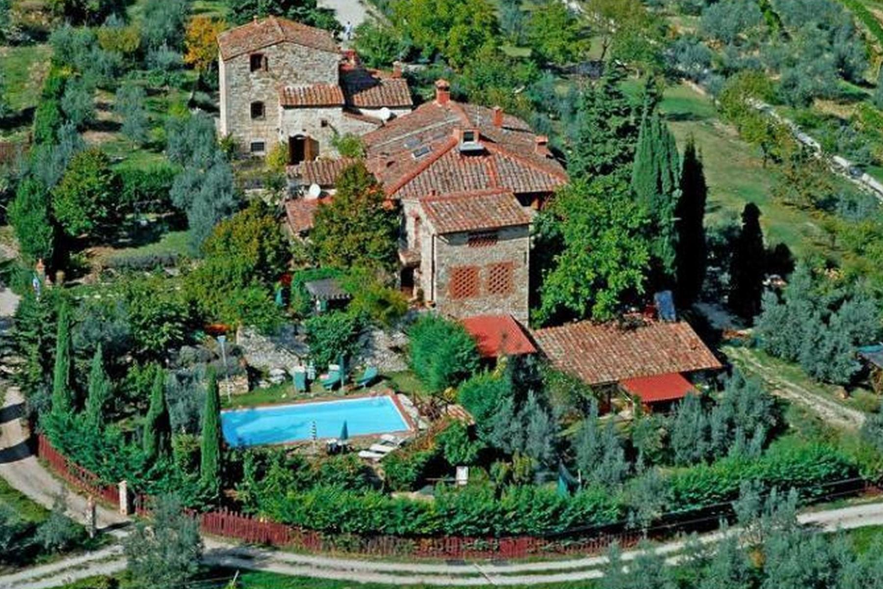 Villa in Vendita a Greve In Chianti via san cresci