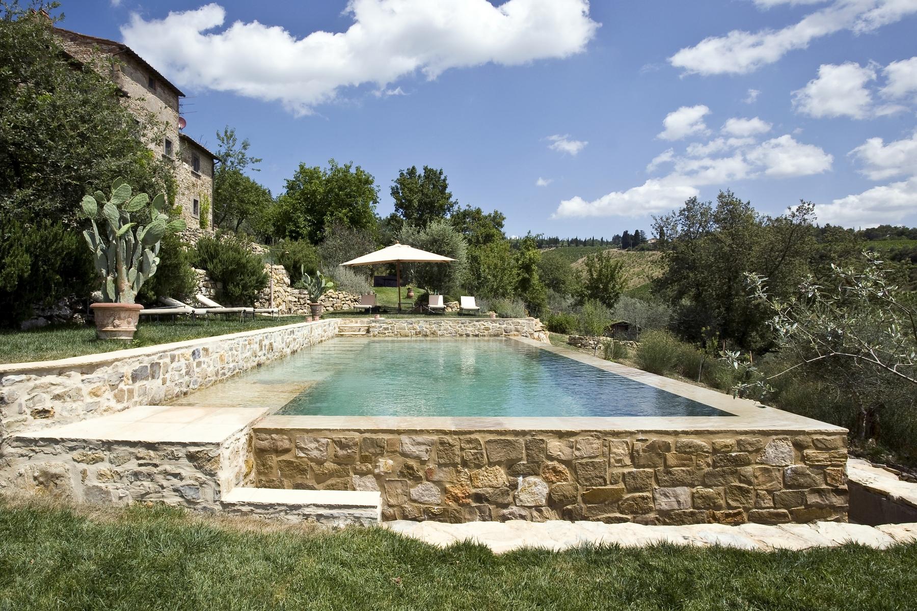 Villa in Vendita a Radda In Chianti prato via case sparse pratolino