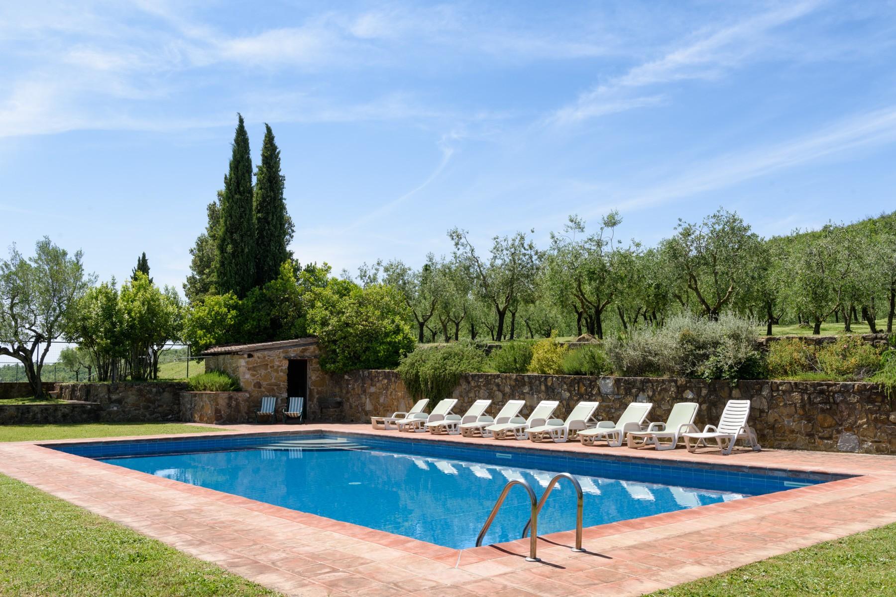 Villa in Vendita a Pergine Valdarno: 5 locali, 600 mq - Foto 8
