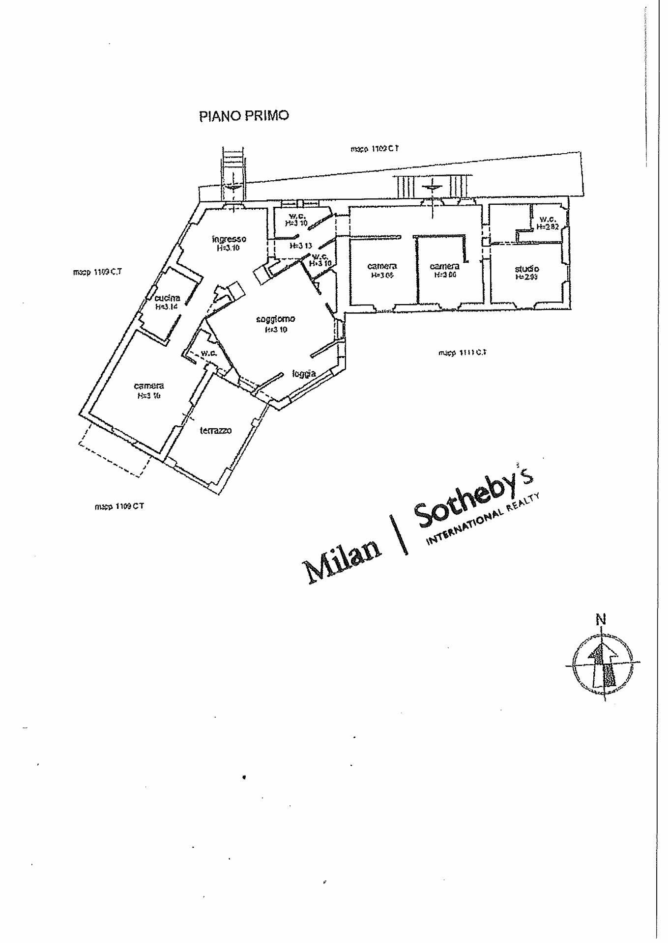 Appartamento in Vendita a Santa Margherita Ligure: 5 locali, 230 mq - Foto 20