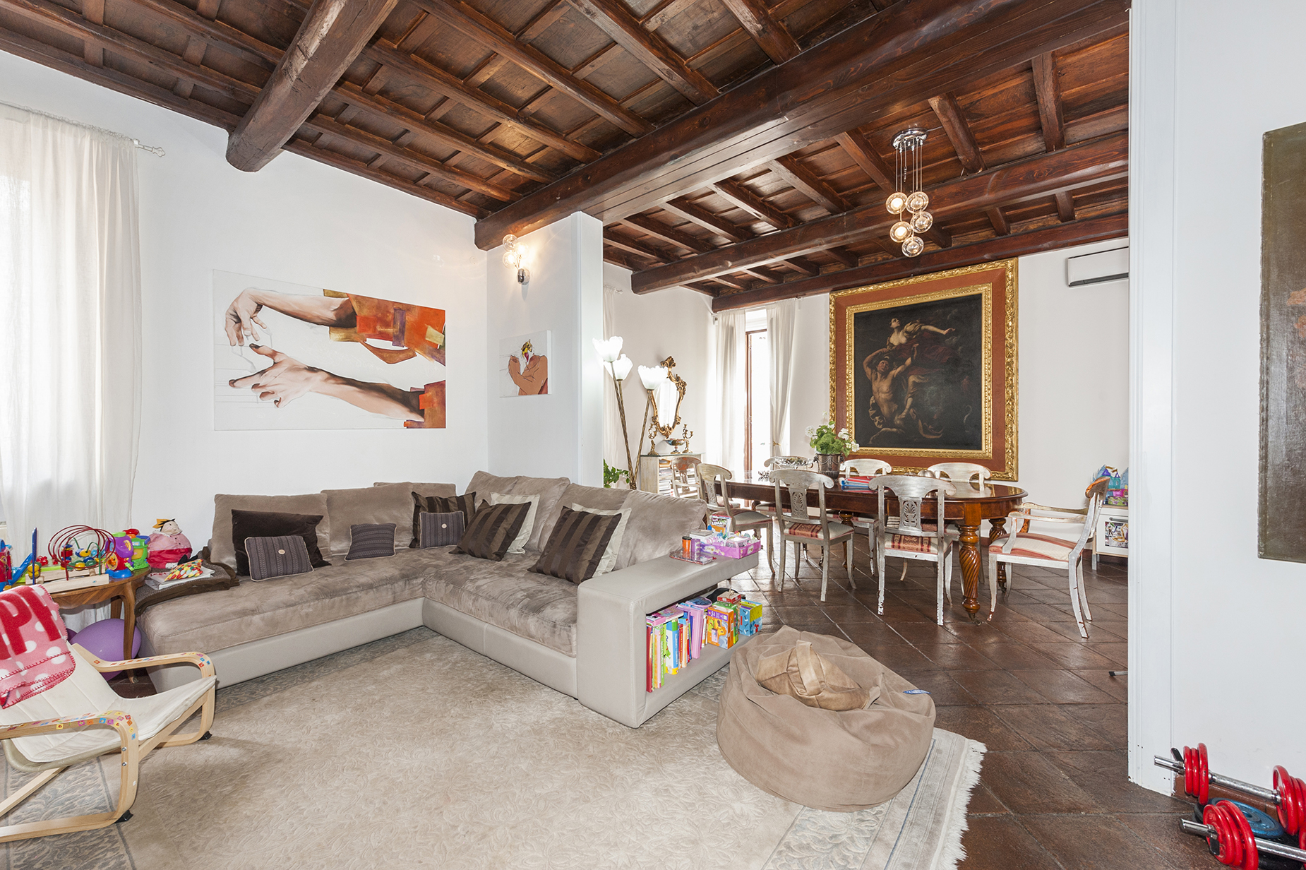 Appartamento in Affitto a Roma: 4 locali, 140 mq - Foto 3