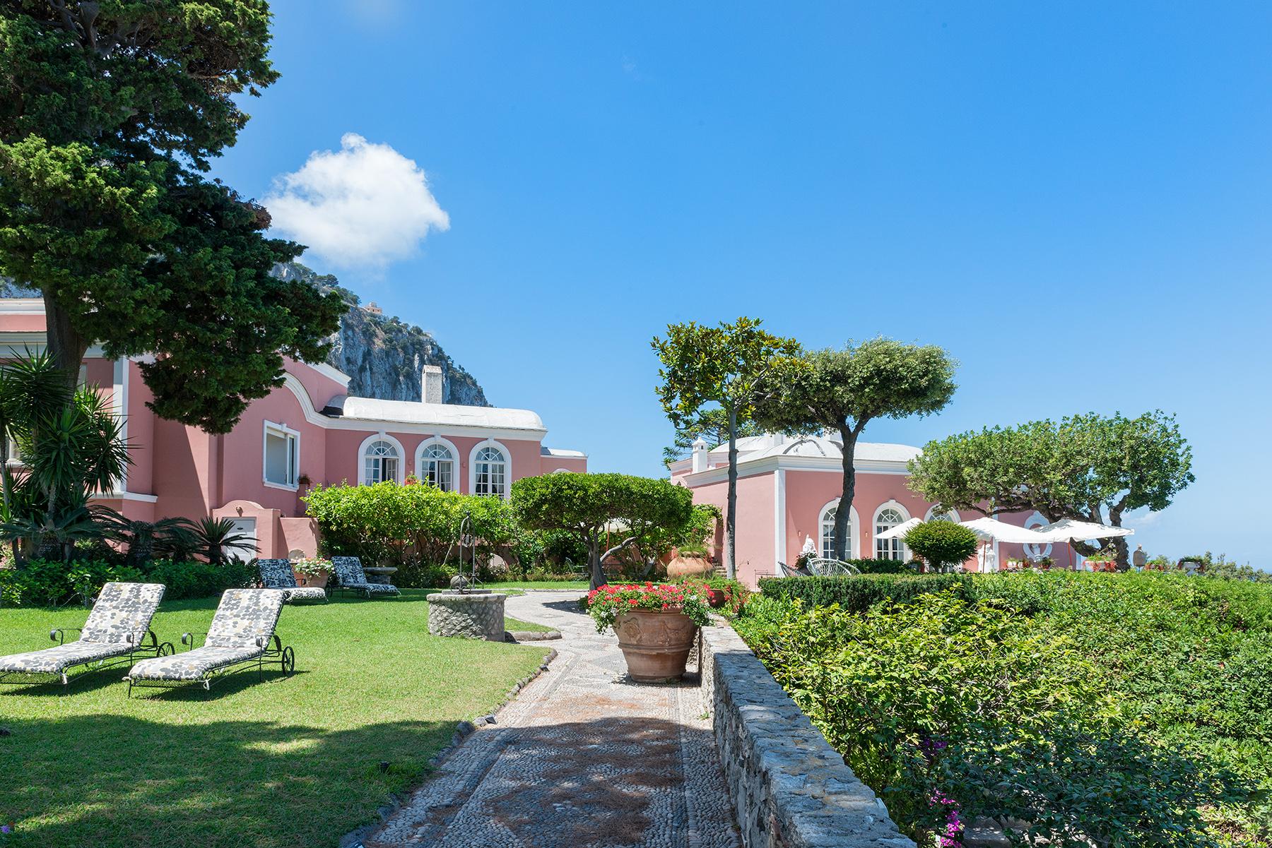 Villa in Vendita a Capri via palazzo a mare