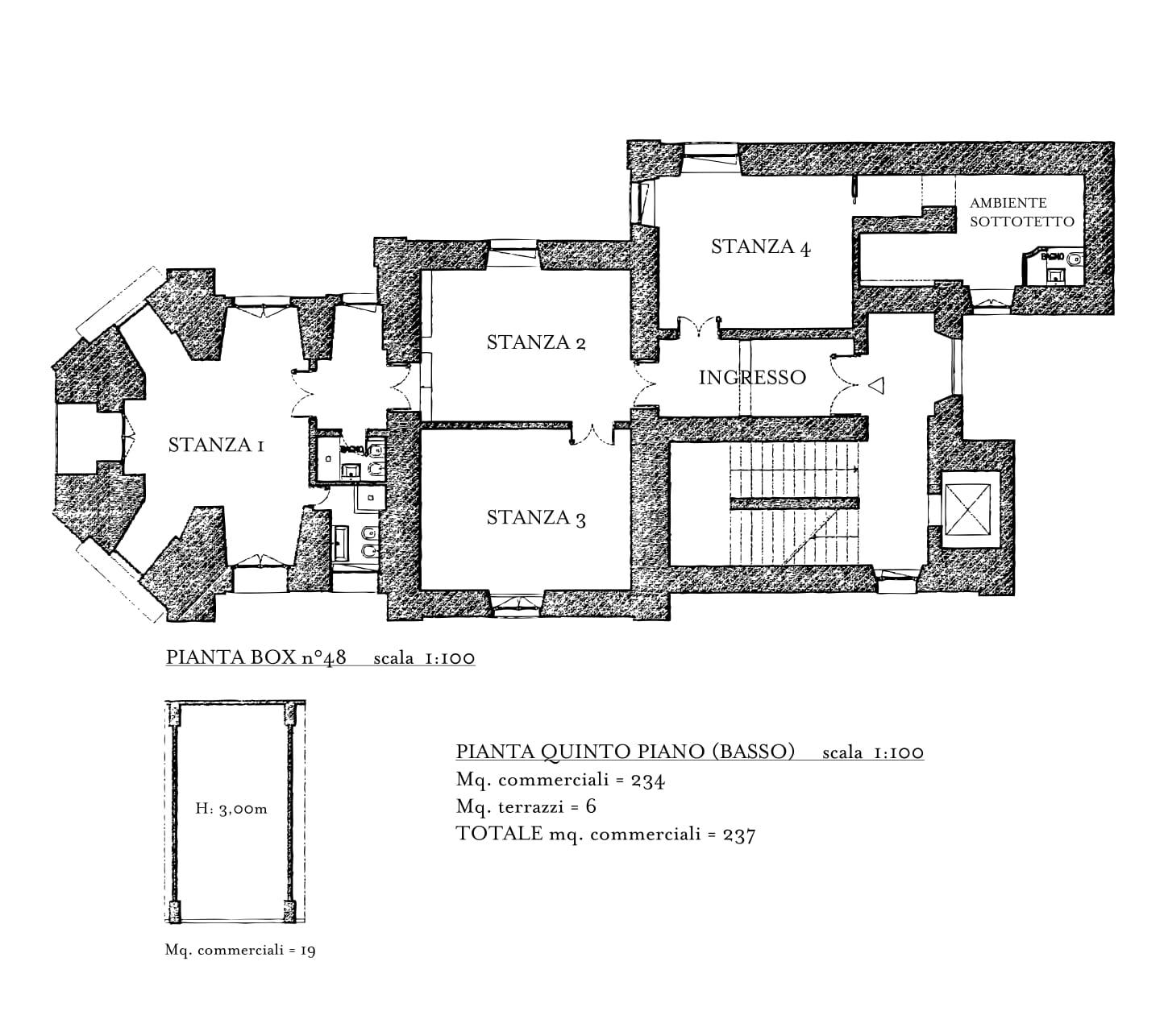 Appartamento in Vendita a Roma: 5 locali, 220 mq - Foto 23