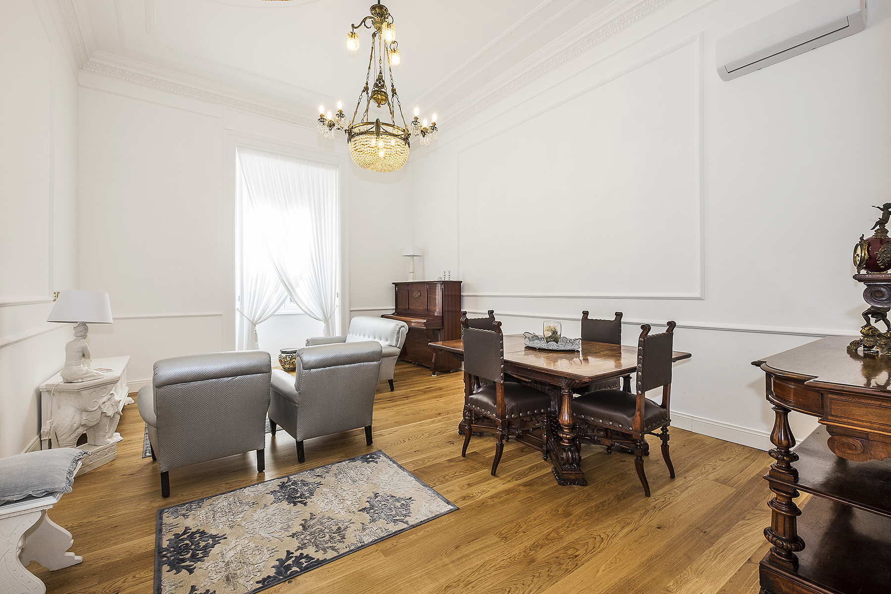 Appartamento di lusso in affitto a roma piazza dei quiriti for Affitto studio eur