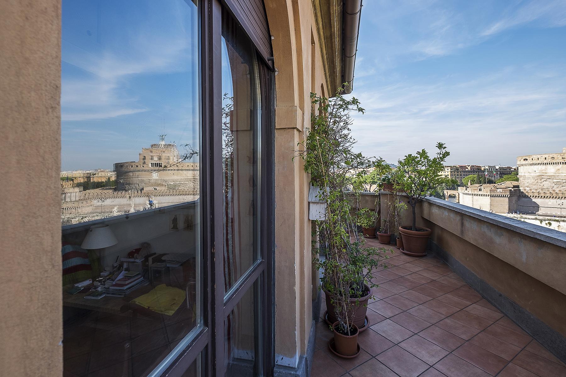 Attico di lusso in affitto a roma trovocasa pregio for Studio affitto roma