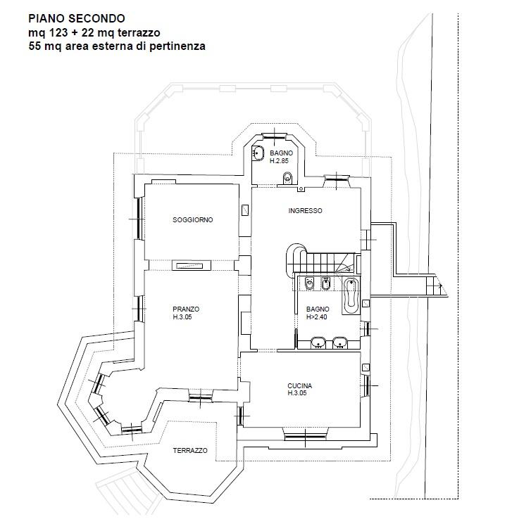 Appartamento in Vendita a Blevio: 5 locali, 203 mq - Foto 15