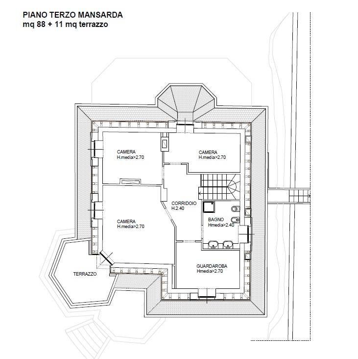 Appartamento in Vendita a Blevio: 5 locali, 203 mq - Foto 16