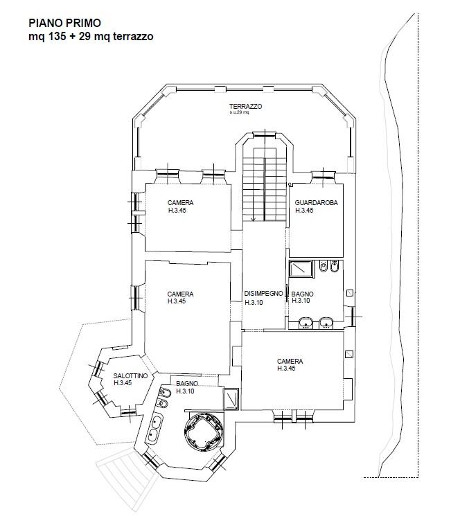 Appartamento in Vendita a Blevio: 5 locali, 260 mq - Foto 21