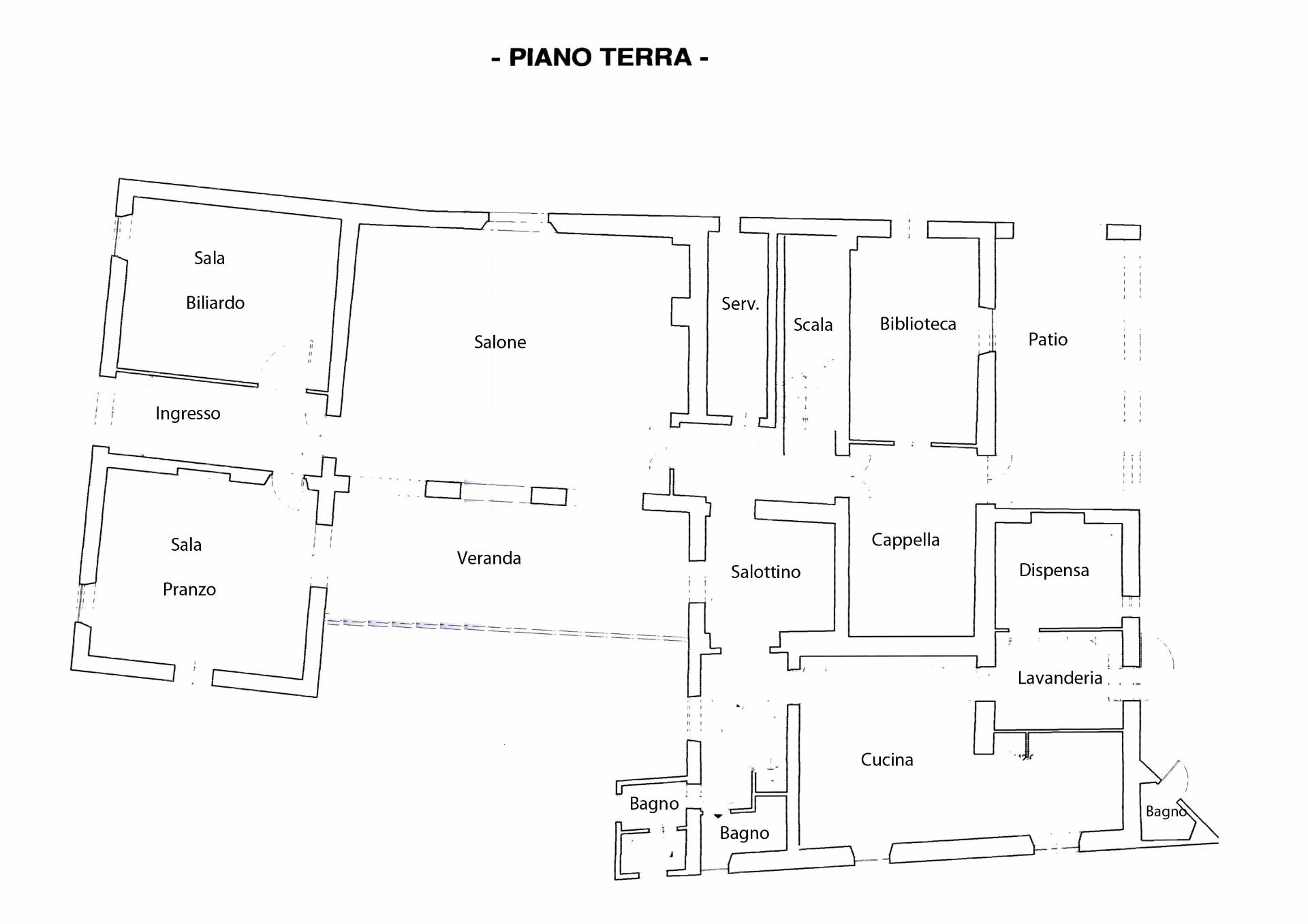 Villa in Vendita a Lucca: 5 locali, 1200 mq - Foto 24