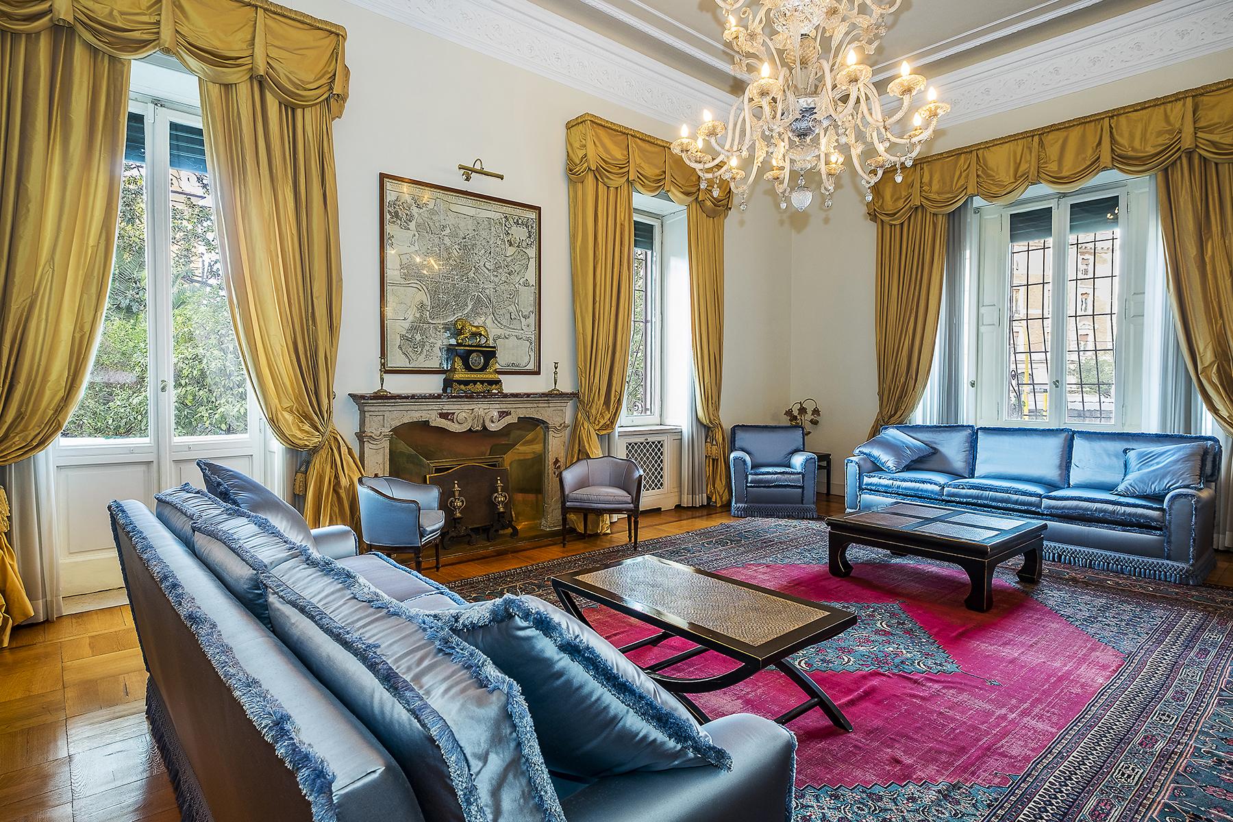 Immobili di lusso a roma trovocasa pregio for Ville lussuose interni