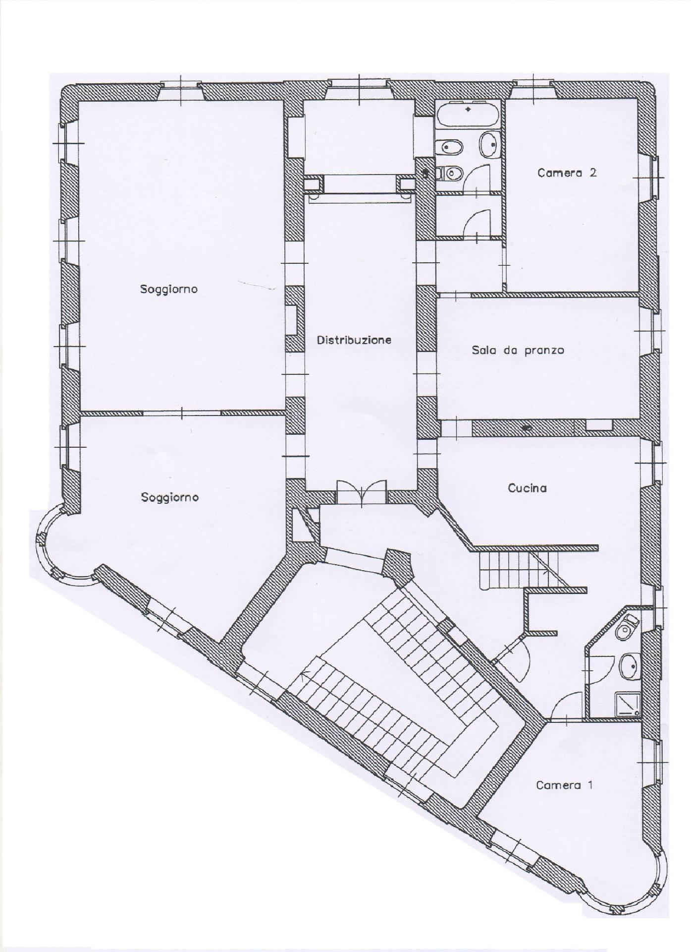 Appartamento in Vendita a Torino: 5 locali, 210 mq - Foto 14