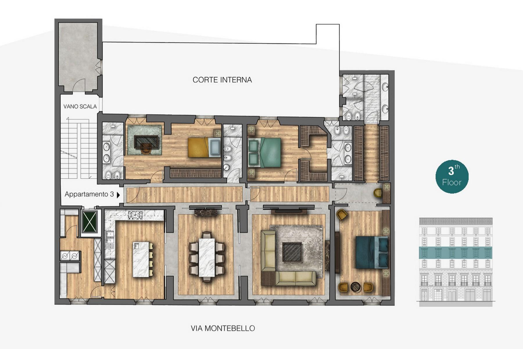 Appartamento in Vendita a Firenze: 5 locali, 270 mq - Foto 9