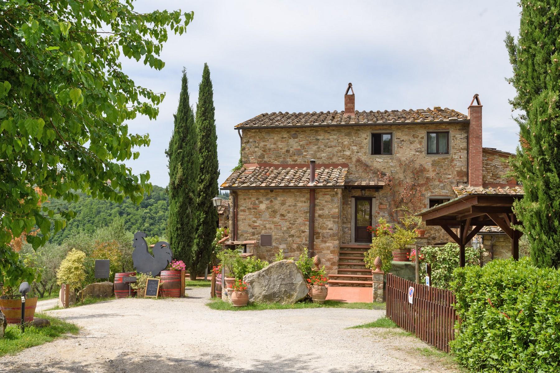 Rustico in Vendita a Gaiole In Chianti: 5 locali, 2170 mq