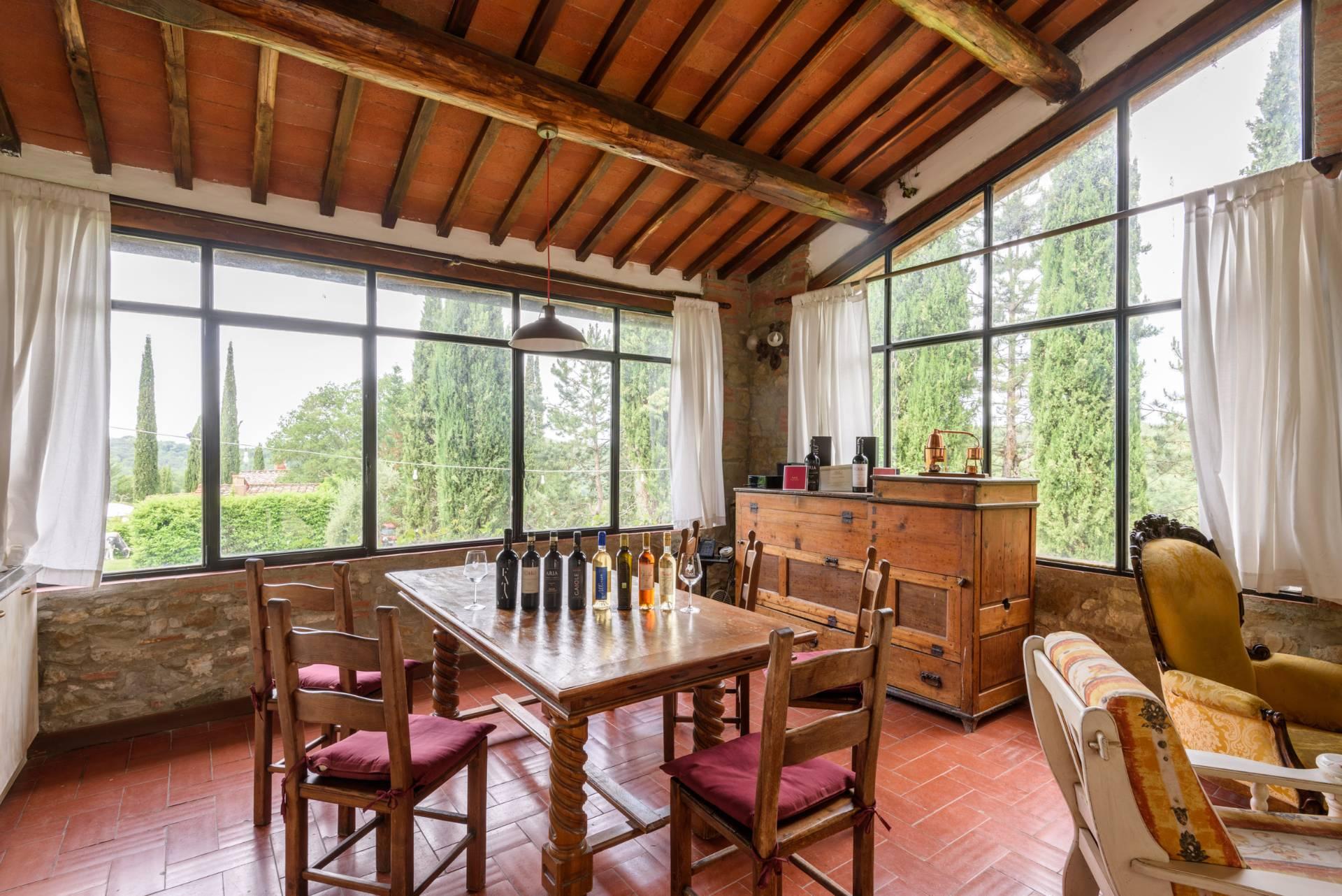 Rustico in Vendita a Gaiole In Chianti: 5 locali, 2170 mq - Foto 19