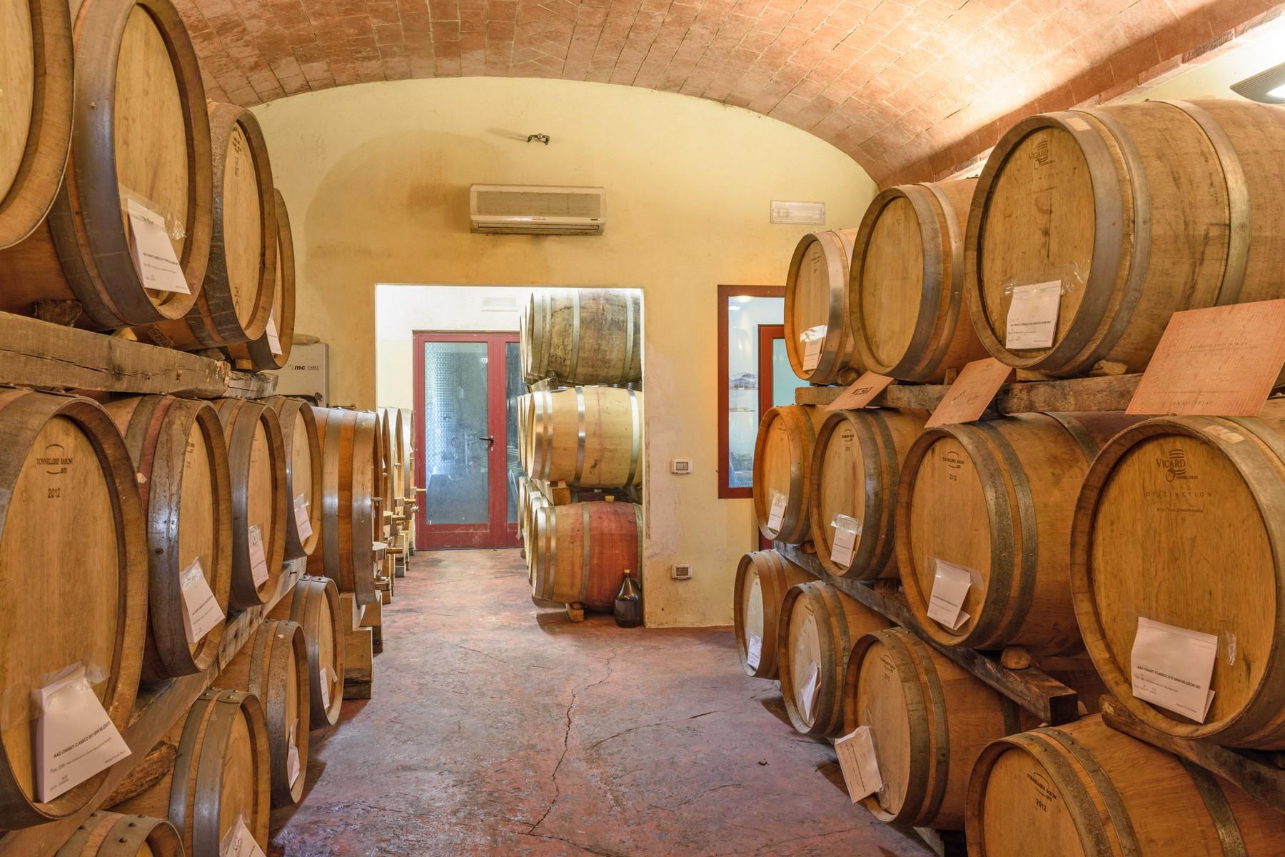 Rustico in Vendita a Gaiole In Chianti: 5 locali, 2170 mq - Foto 28