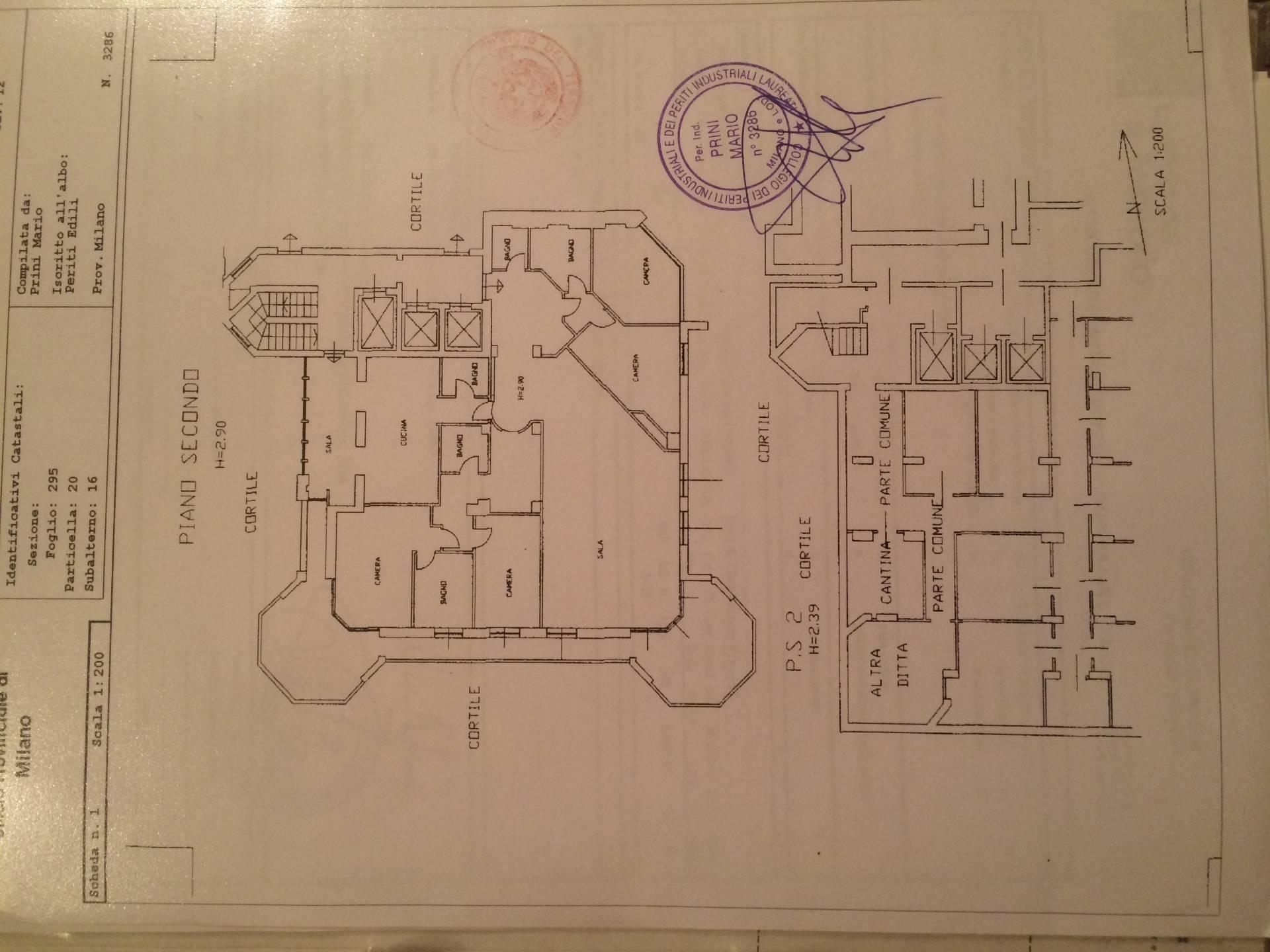 Appartamento in Vendita a Milano: 5 locali, 265 mq - Foto 21