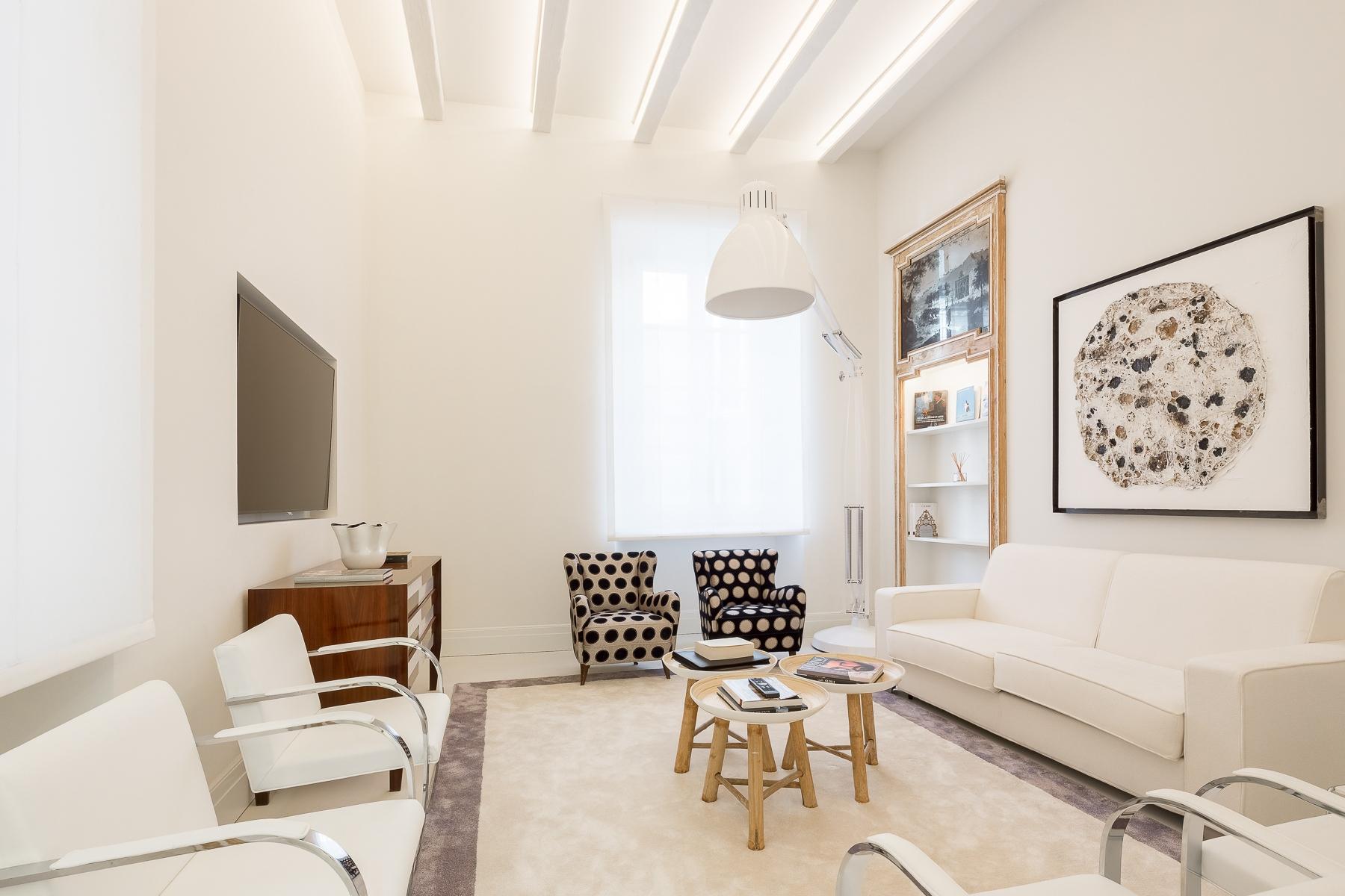 Appartamento di lusso in affitto a milano borgo via for Appartamento design affitto milano