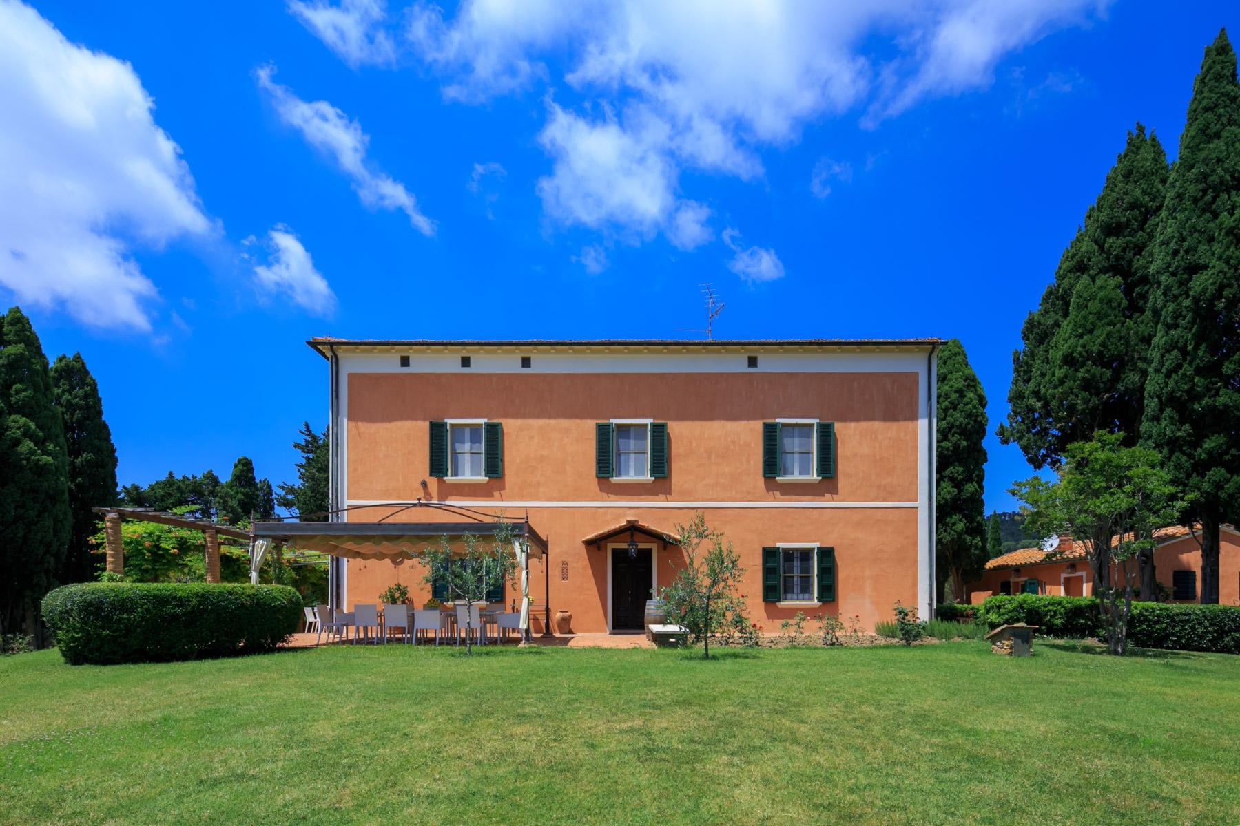 Villa in Vendita a Campiglia Marittima: 5 locali, 1100 mq - Foto 6