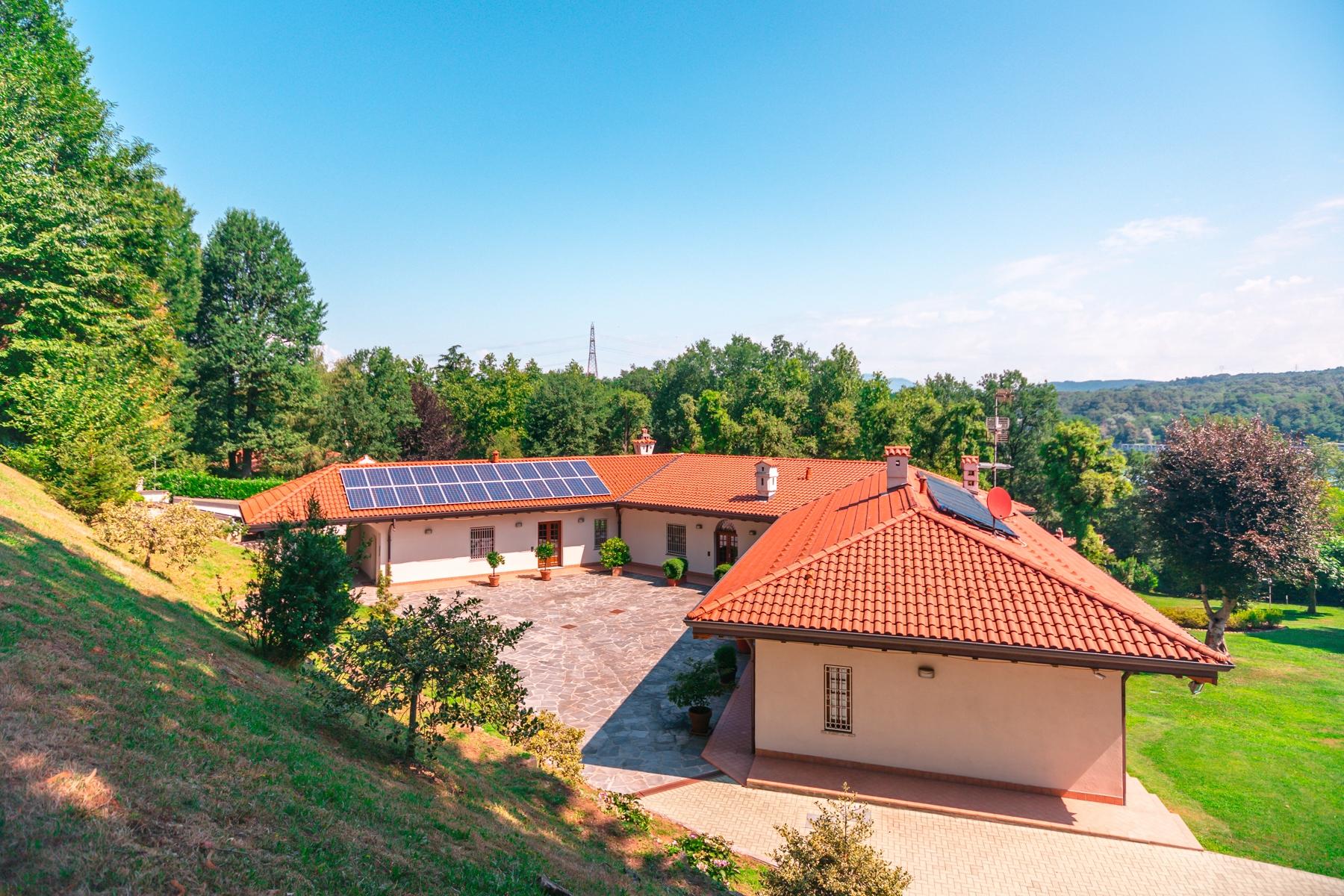 Villa in Vendita a Castelletto Sopra Ticino: 5 locali, 400 mq - Foto 29