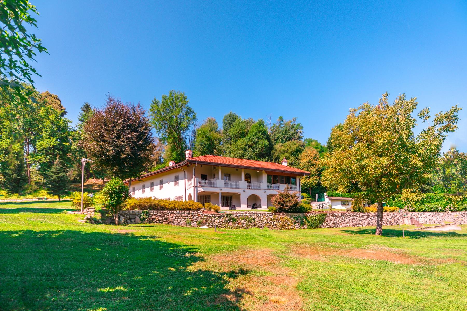 Villa in Vendita a Castelletto Sopra Ticino: 5 locali, 400 mq - Foto 30