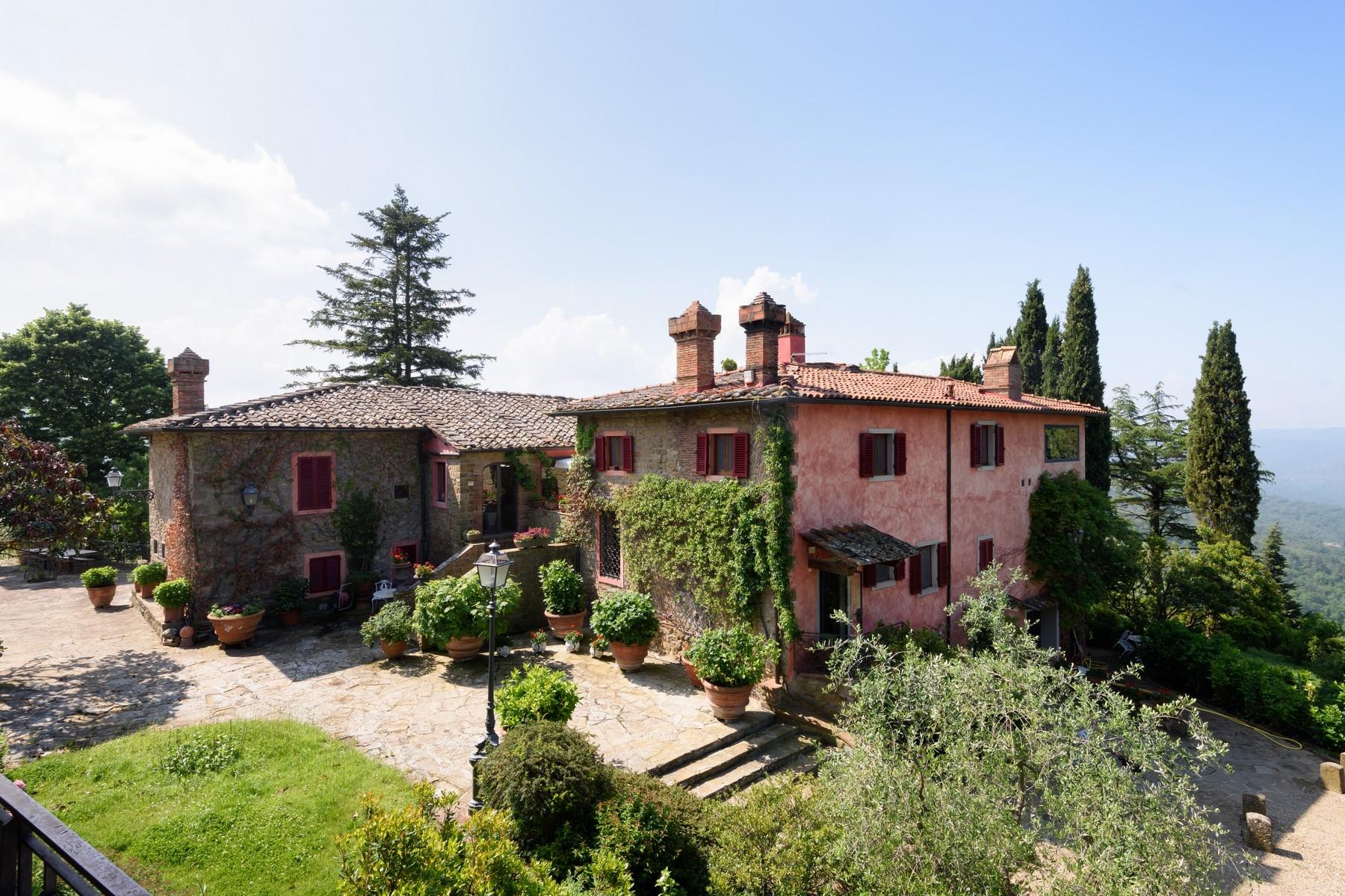 Villa in Vendita a Greve In Chianti via san leonino