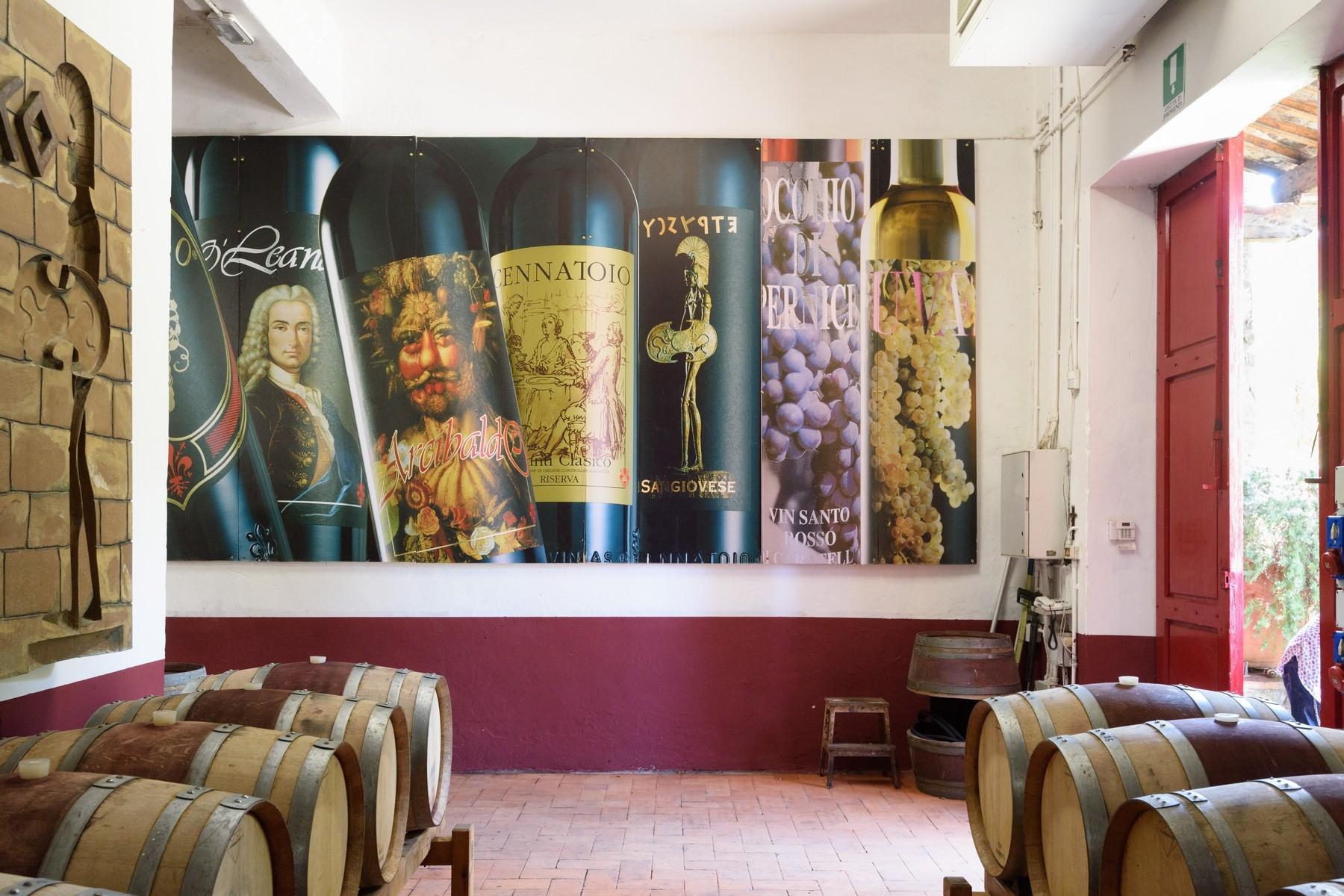 Villa in Vendita a Greve In Chianti: 5 locali, 491 mq - Foto 23