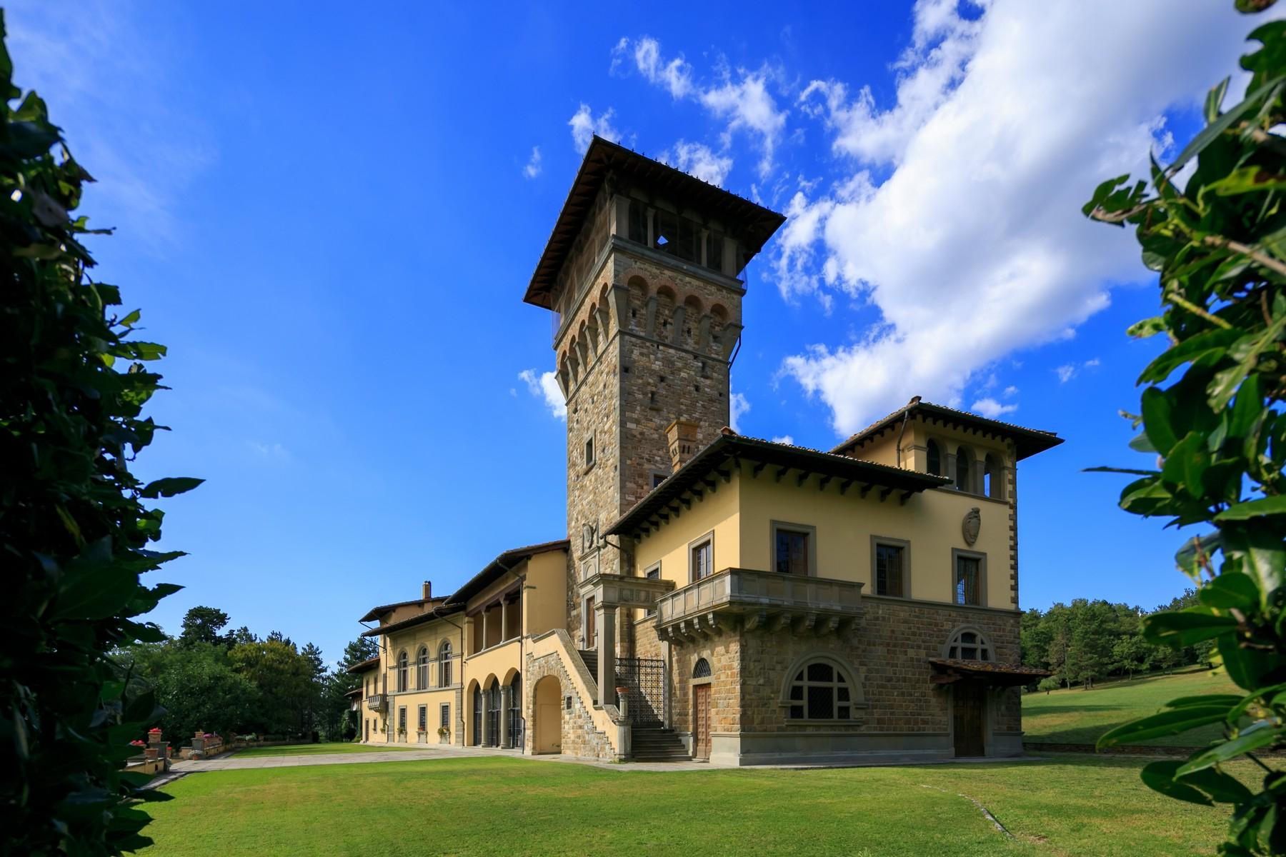 Villa in Vendita a Fiesole via bersaglio