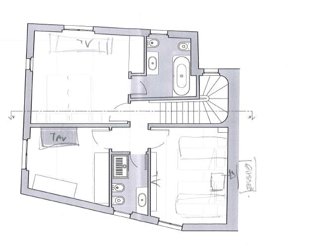 Casa indipendente in Vendita a Firenze: 5 locali, 128 mq - Foto 17