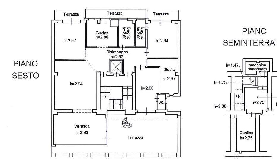 Appartamento in Affitto a Firenze: 5 locali, 170 mq - Foto 15