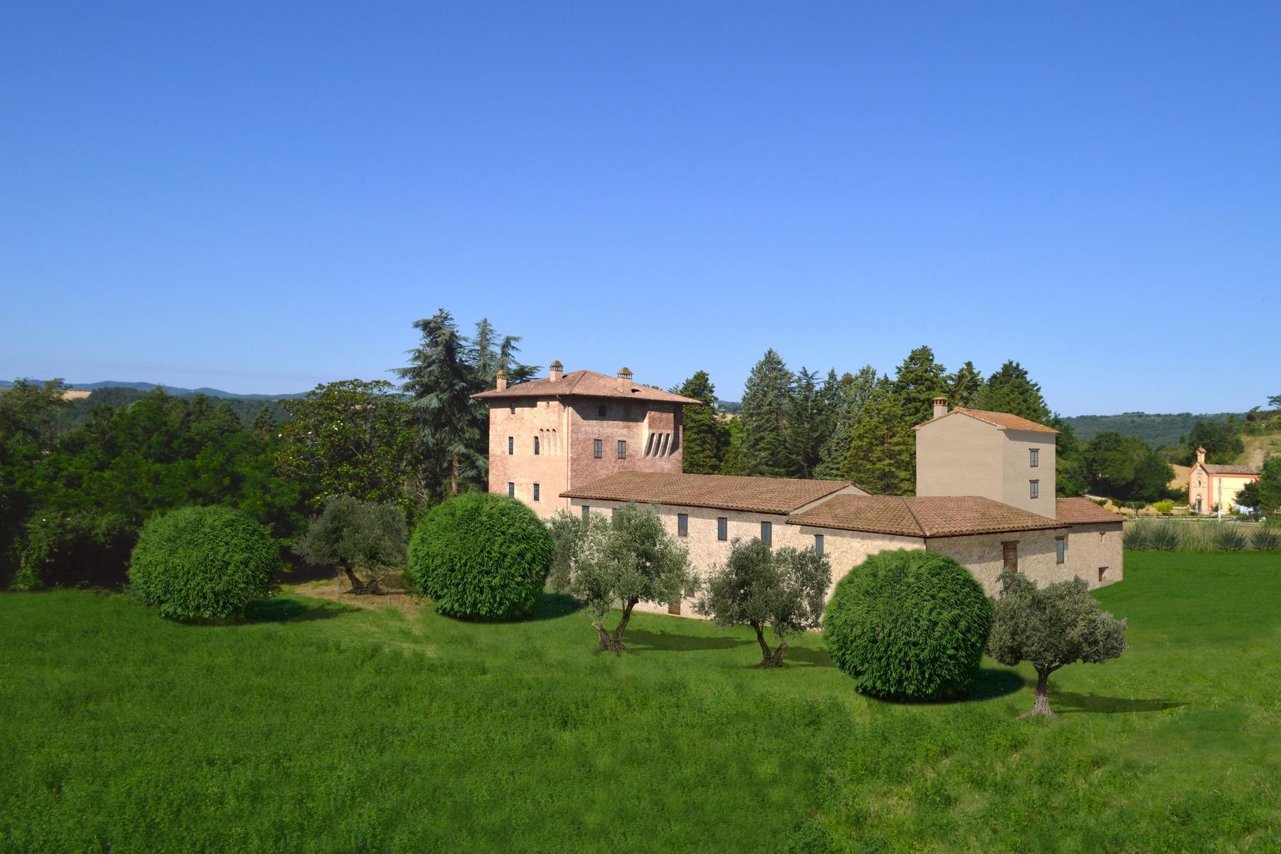 Rustico in Vendita a Marsciano: 5 locali, 1500 mq