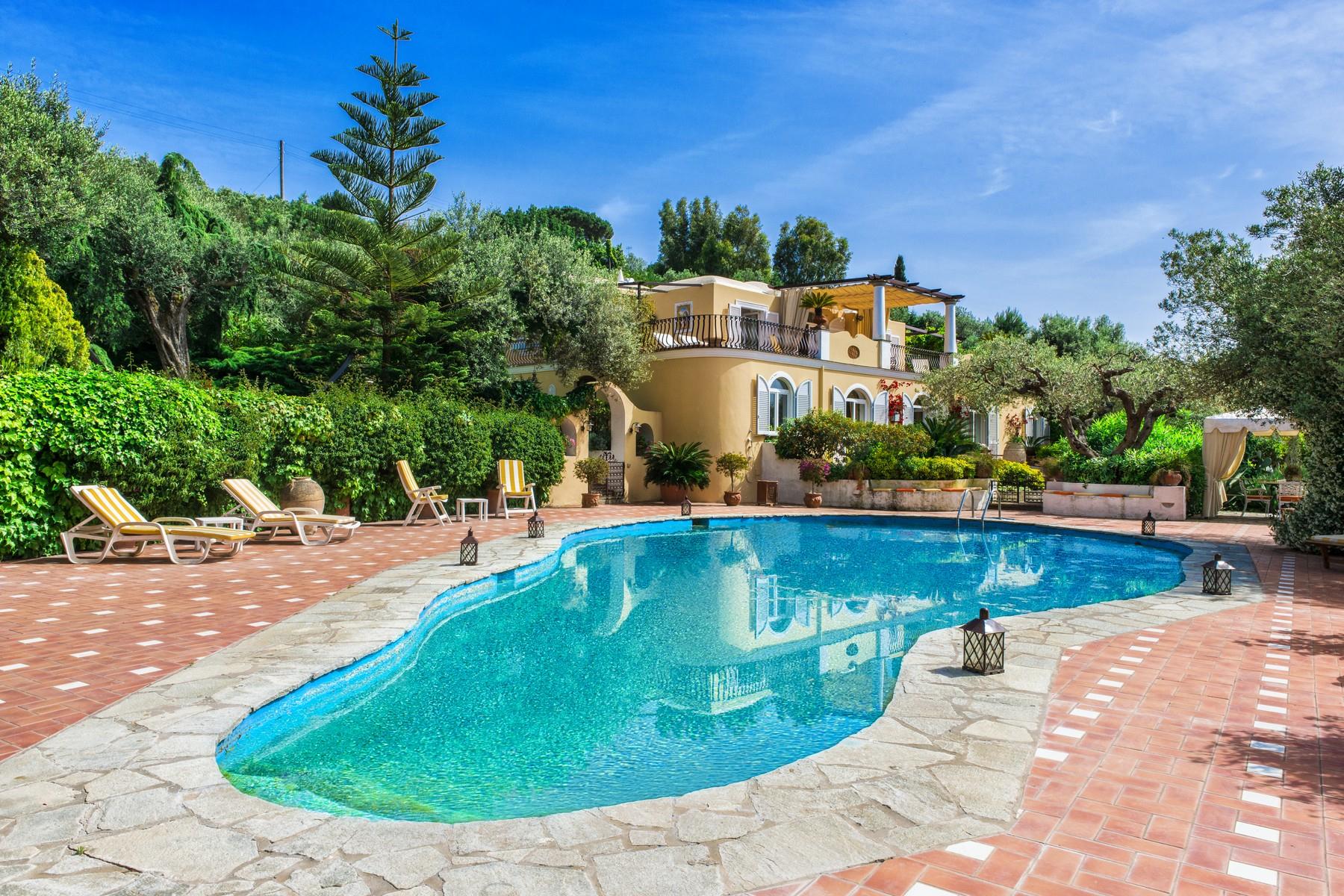 Villa in Vendita a Capri via vecchia del faro