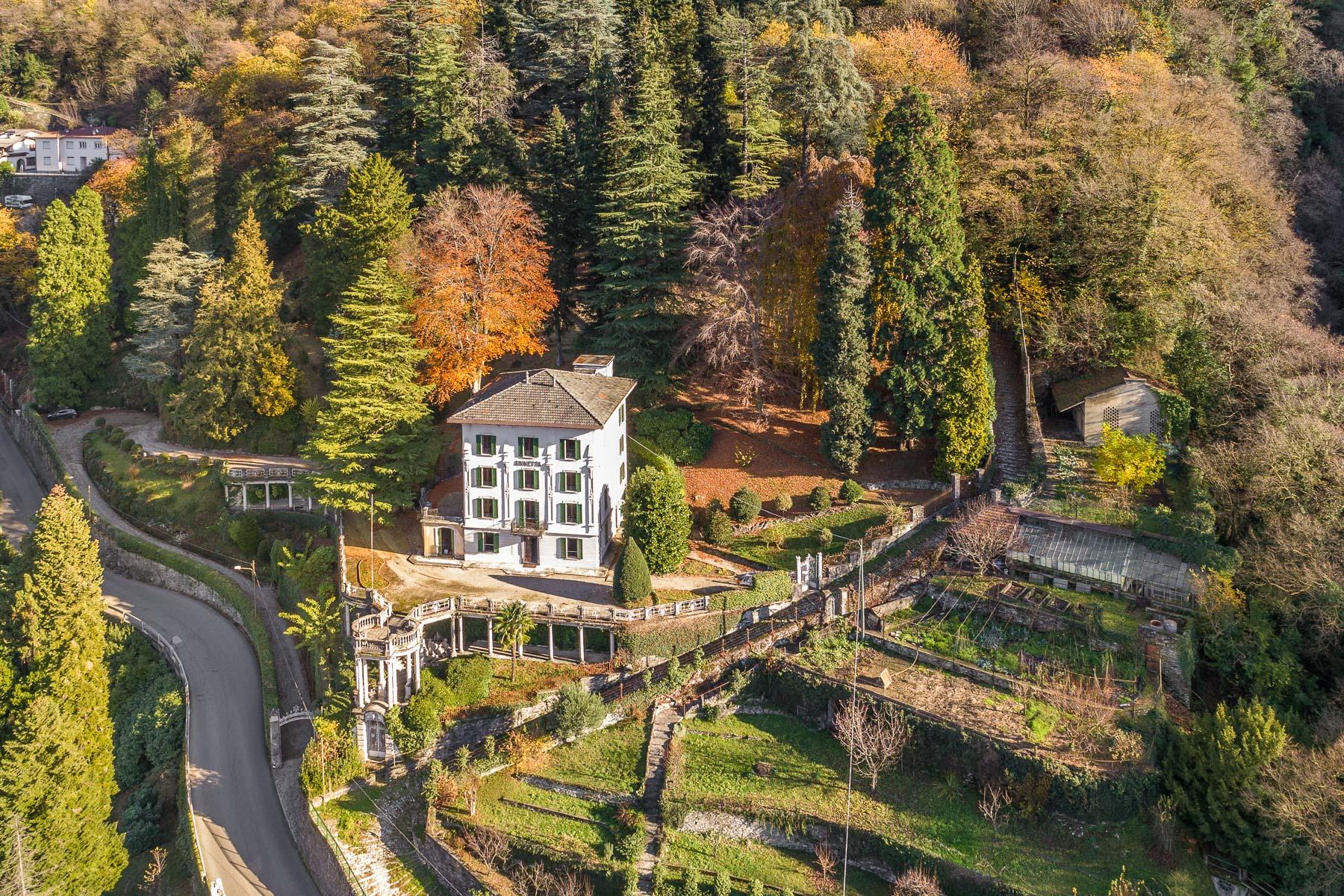 Villa in Vendita a Faggeto Lario: 5 locali, 800 mq