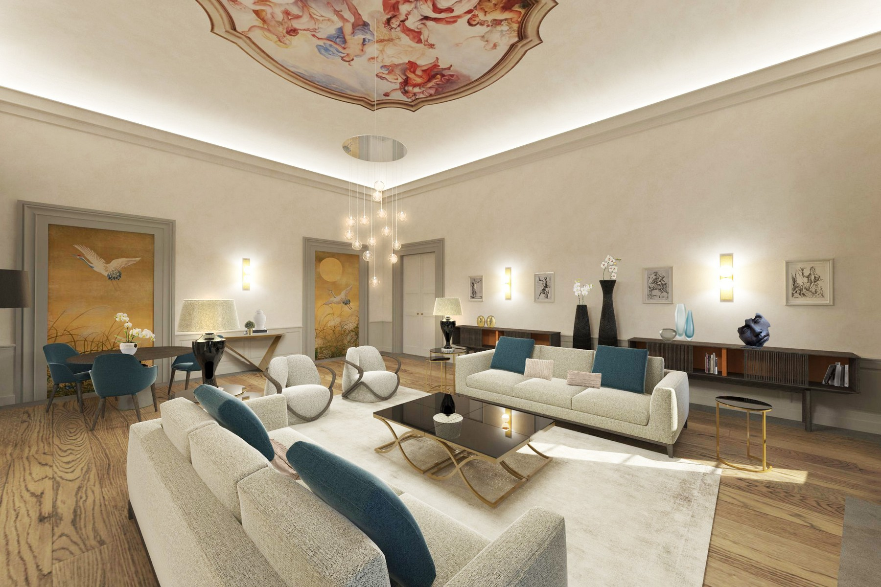 Appartamento in Vendita a Firenze via ghibellina