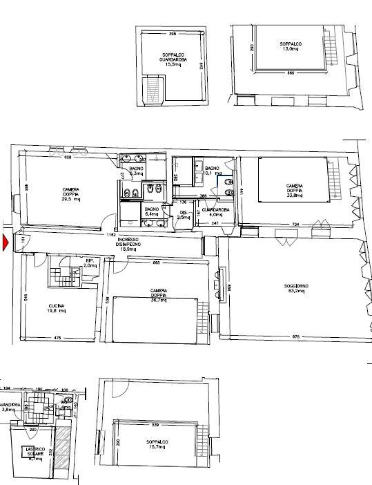 Appartamento in Vendita a Firenze: 5 locali, 360 mq - Foto 21