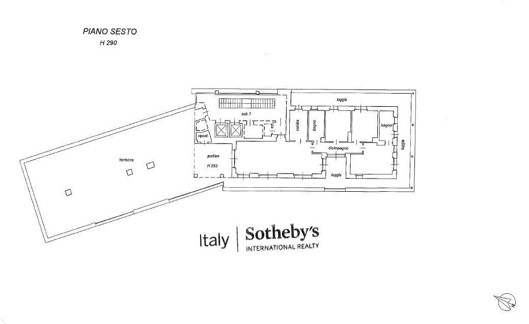 Attico in Vendita a Milano: 4 locali, 200 mq - Foto 30