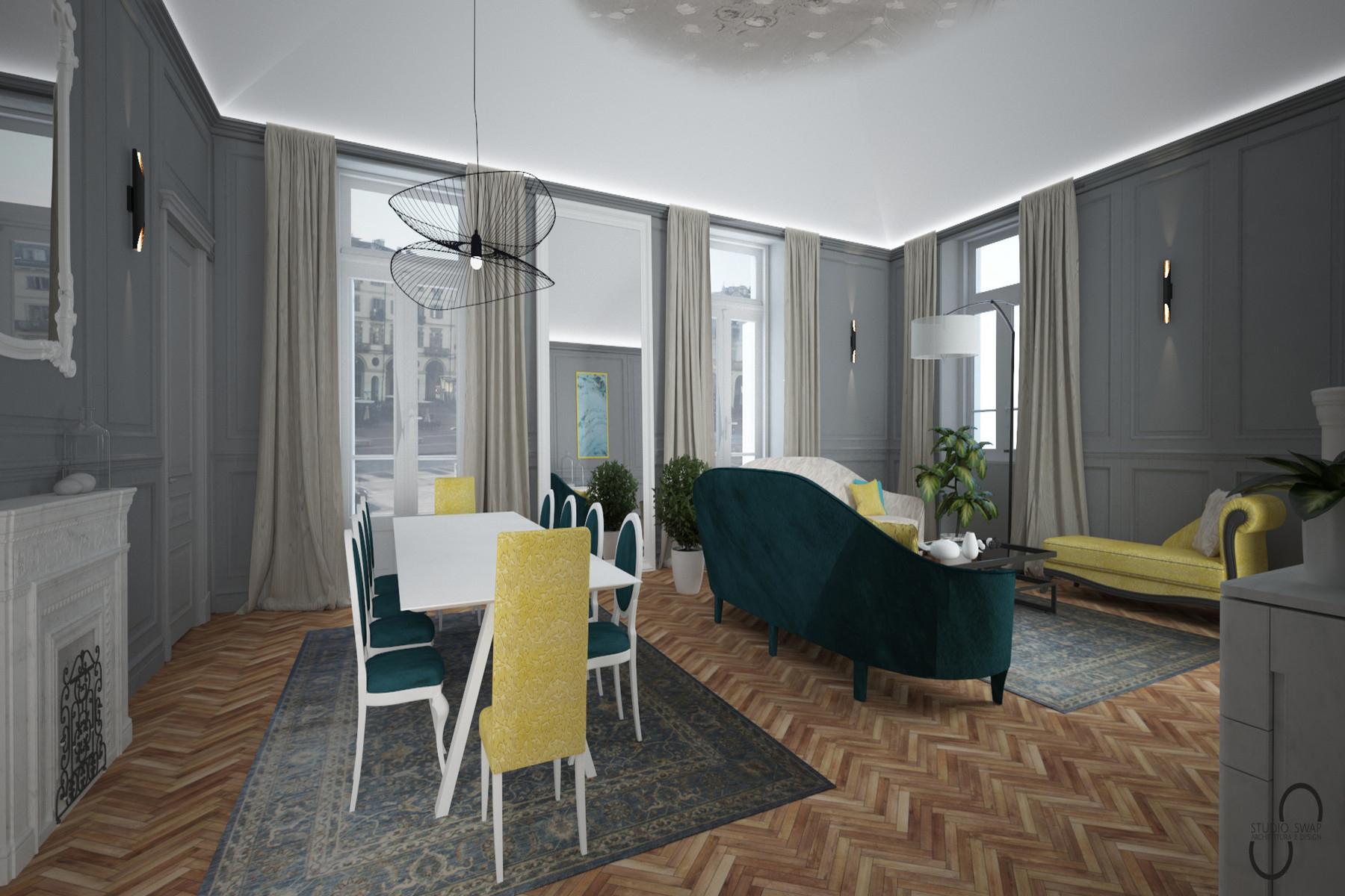 Appartamento in Vendita a Torino: 5 locali, 300 mq - Foto 2