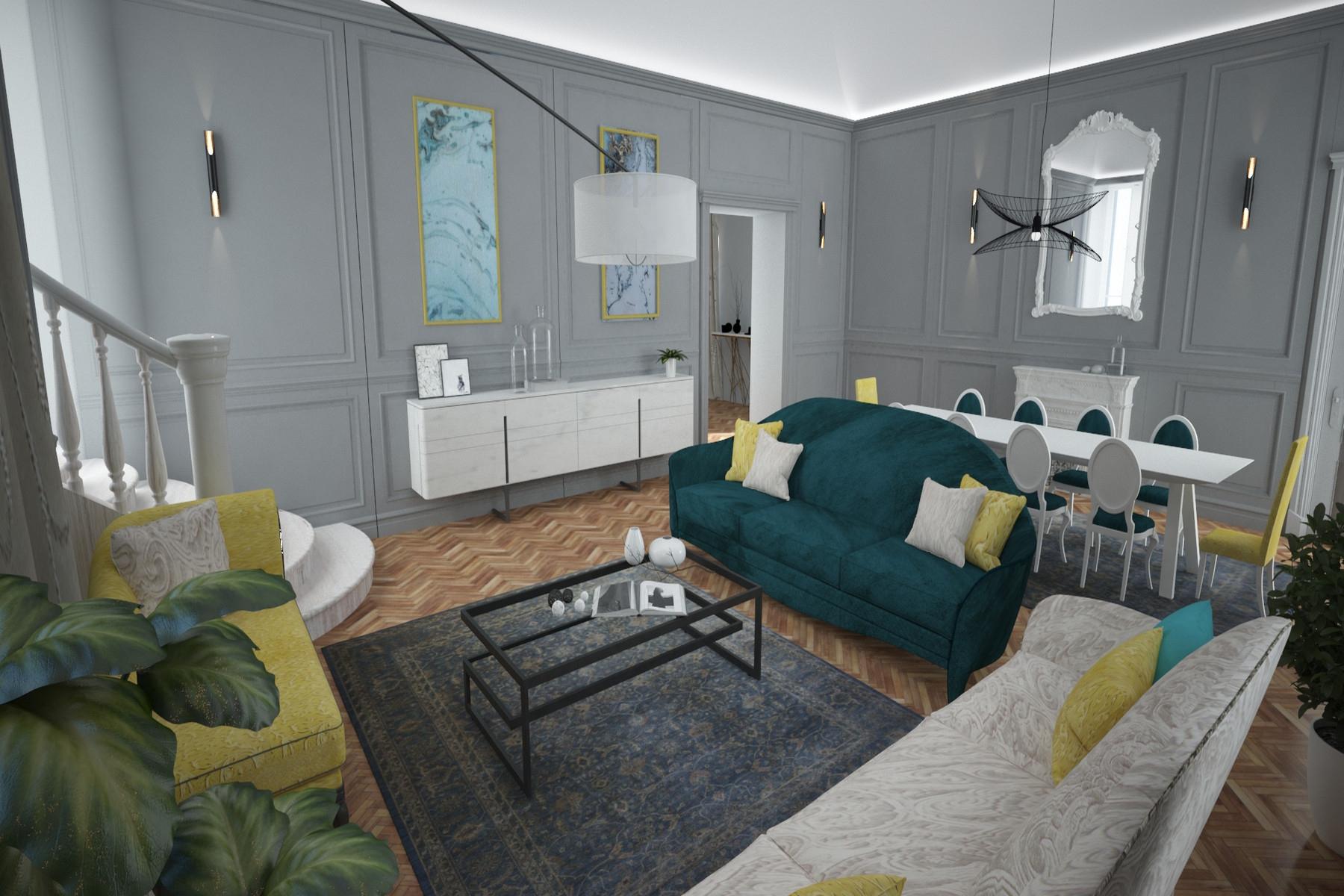 Appartamento in Vendita a Torino: 5 locali, 300 mq - Foto 3