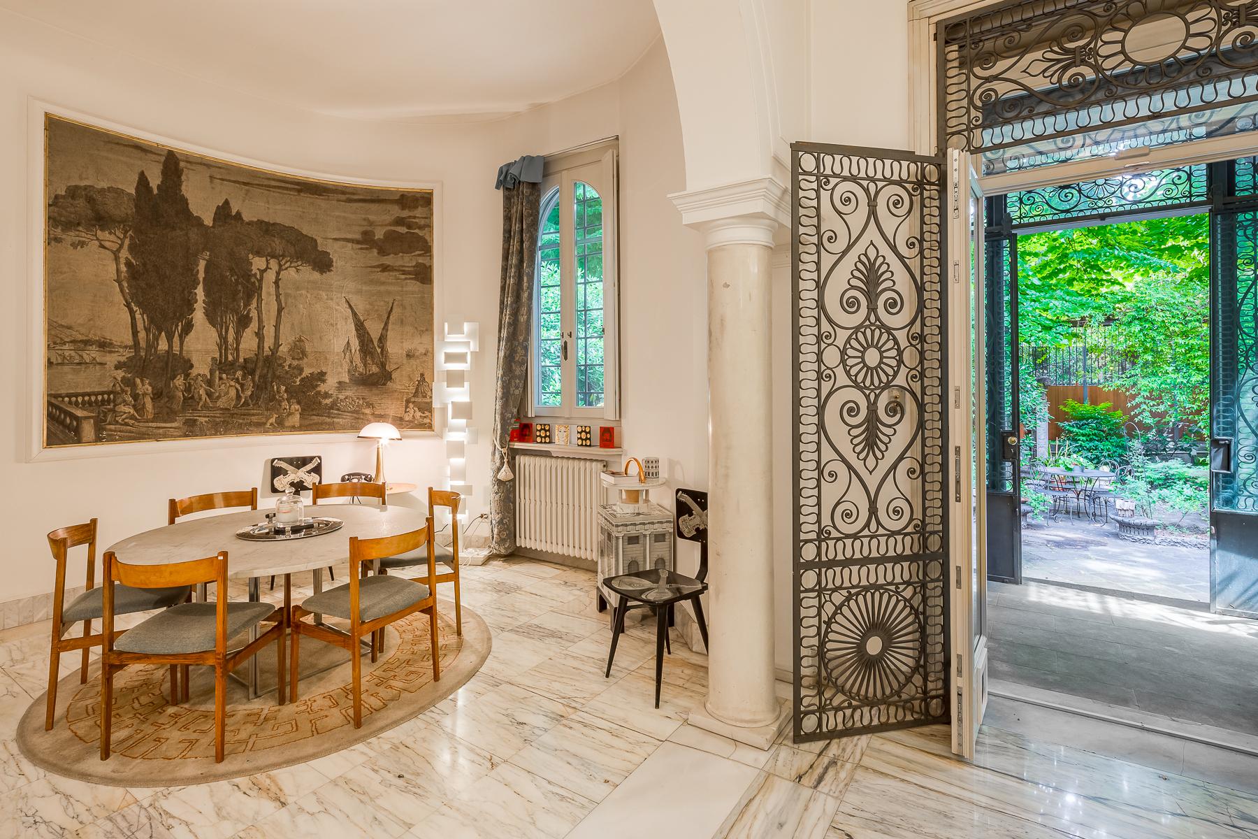 Casa indipendente di lusso in affitto a milano via plinio for Case arredate affitto milano