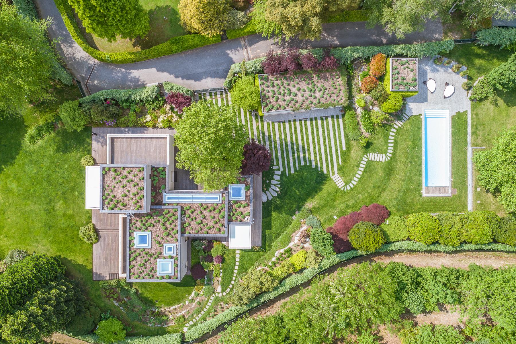 Villa in Vendita a Angera: 5 locali, 460 mq - Foto 29