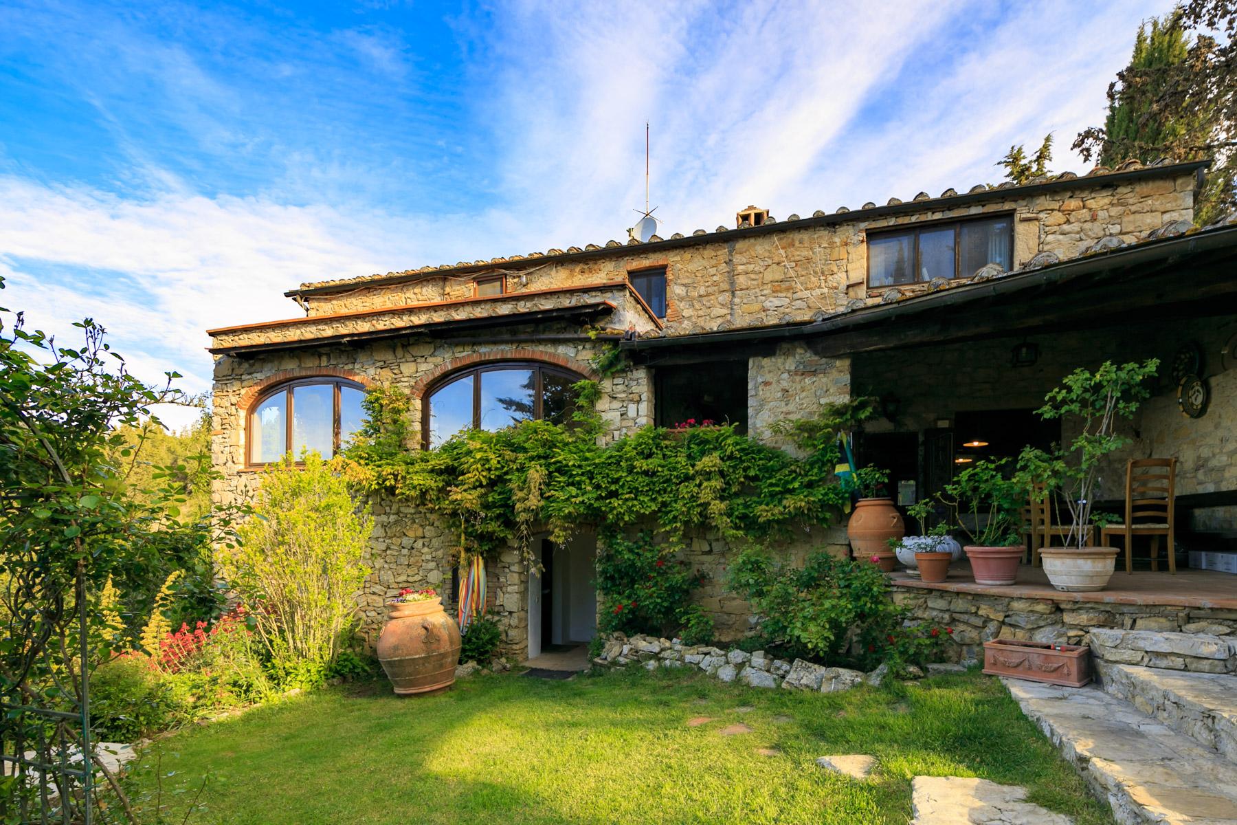 Villa in Vendita a Castellina In Chianti: 5 locali, 375 mq