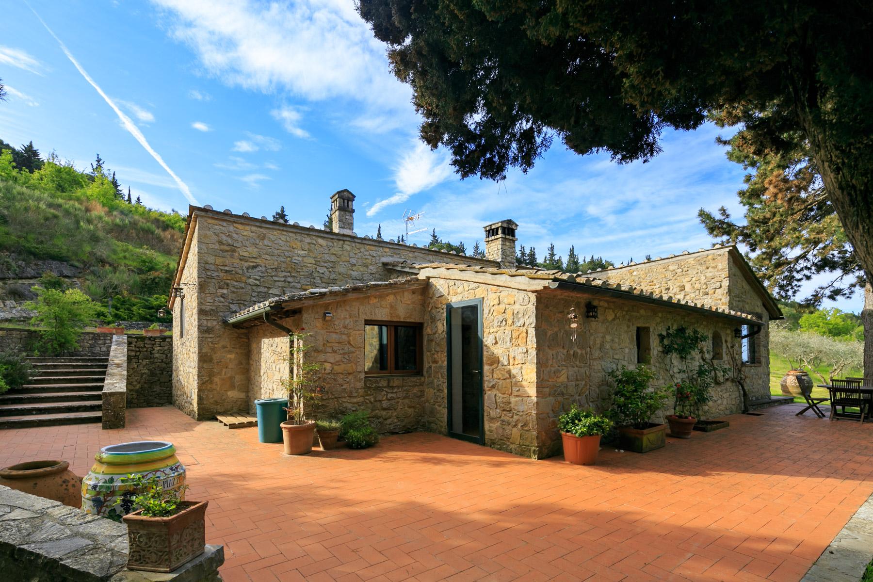 Villa in Vendita a Castellina In Chianti:  5 locali, 140 mq  - Foto 1