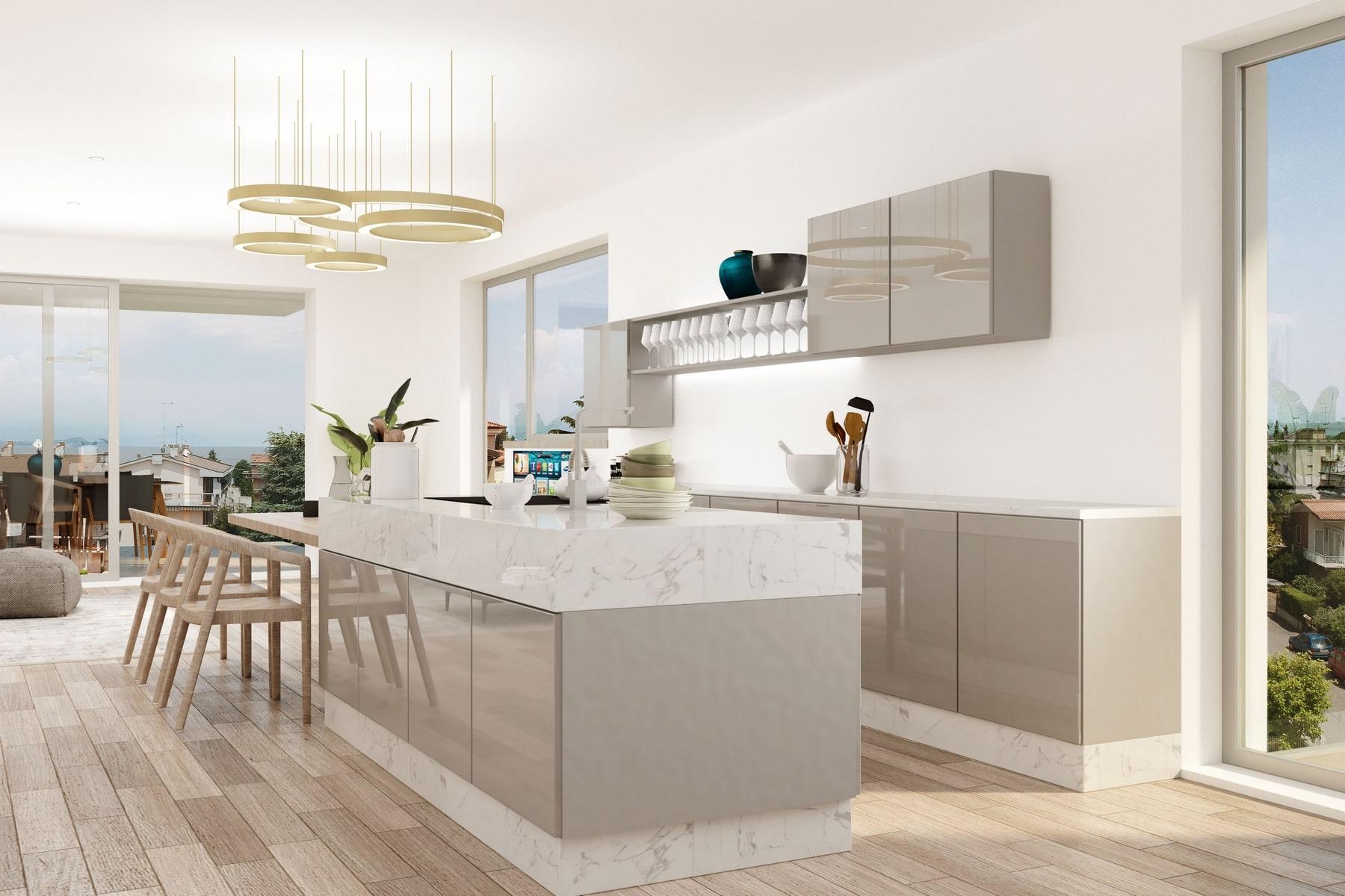 Appartamento in Vendita a Desenzano Del Garda: 5 locali, 180 mq - Foto 3
