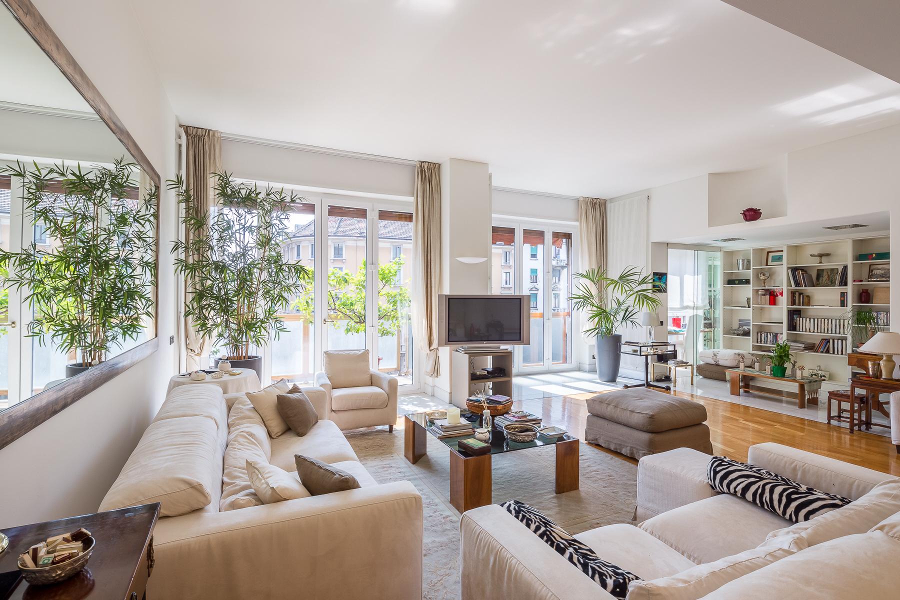 Appartamento in Vendita a Milano 04 Monforte / Tricolore / Vittoria: 4 locali, 212 mq