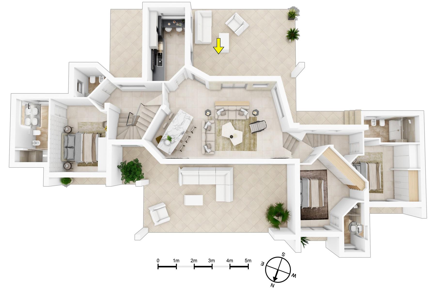 Villa in Vendita a Arzachena: 5 locali, 350 mq - Foto 15