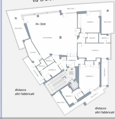 Appartamento in Vendita a Roma: 5 locali, 210 mq - Foto 22
