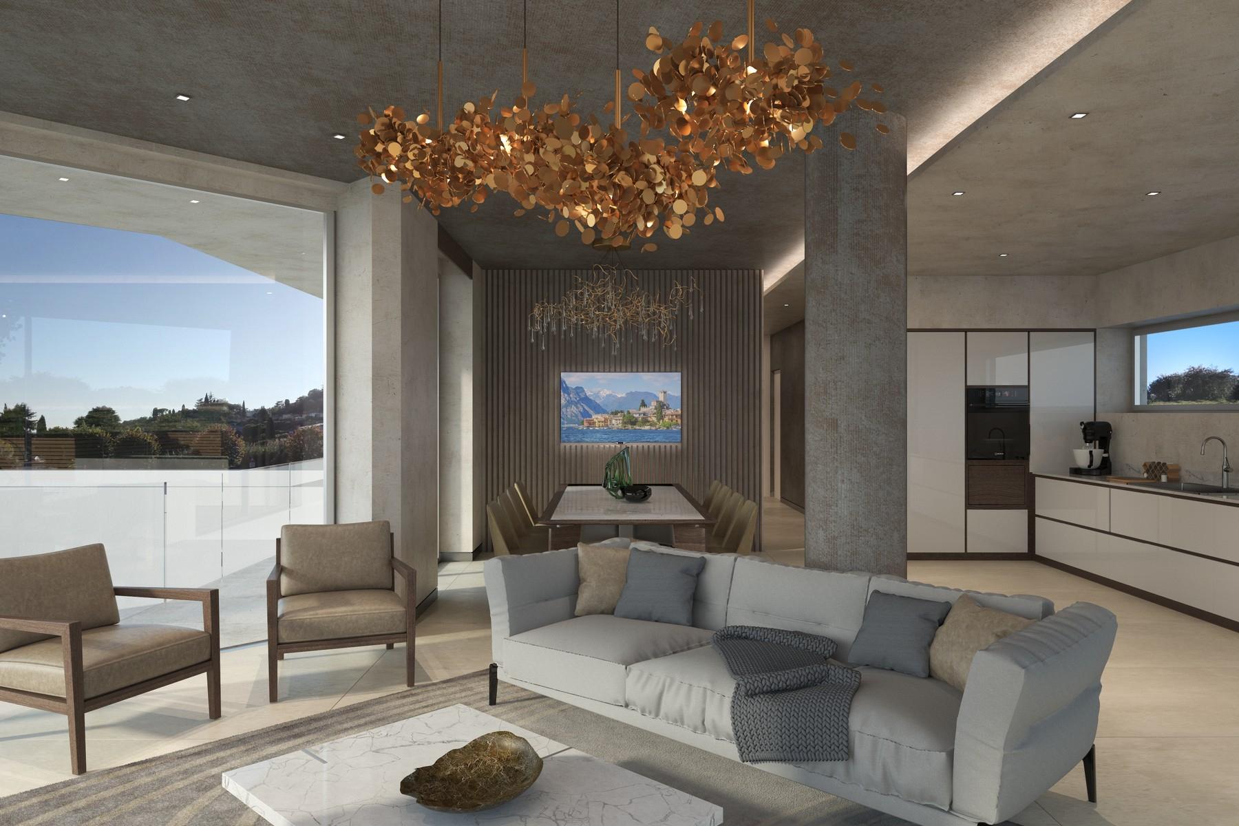 Appartamento in Vendita a Padenghe Sul Garda: 5 locali, 371 mq - Foto 8