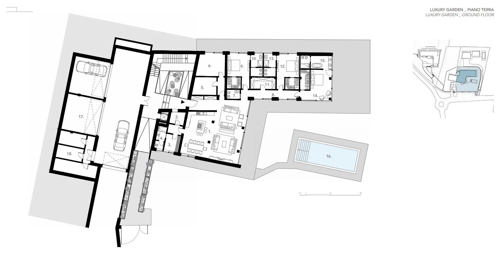 Appartamento in Vendita a Padenghe Sul Garda: 5 locali, 371 mq - Foto 11