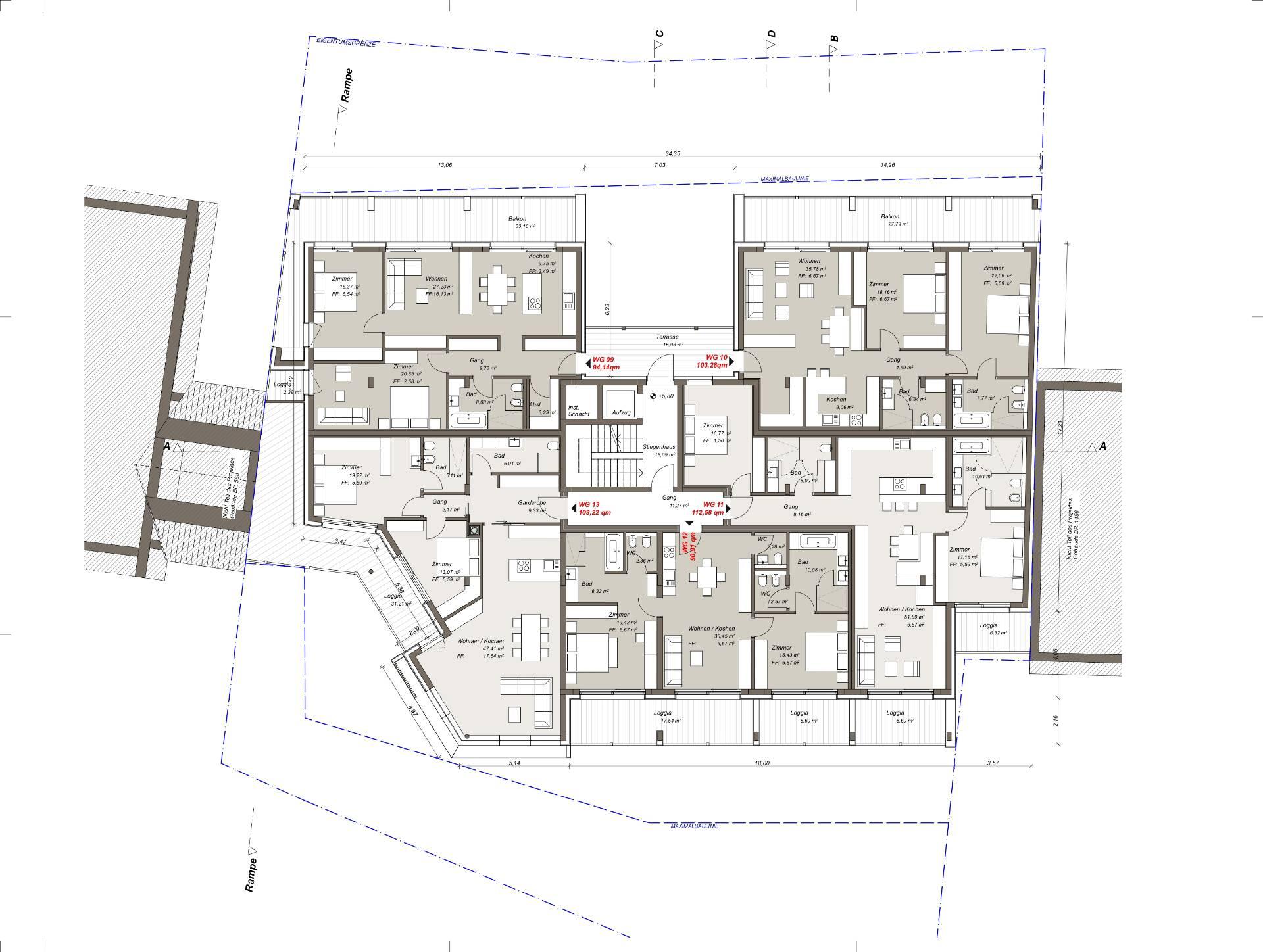 Appartamento in Vendita a Badia: 5 locali, 120 mq - Foto 18
